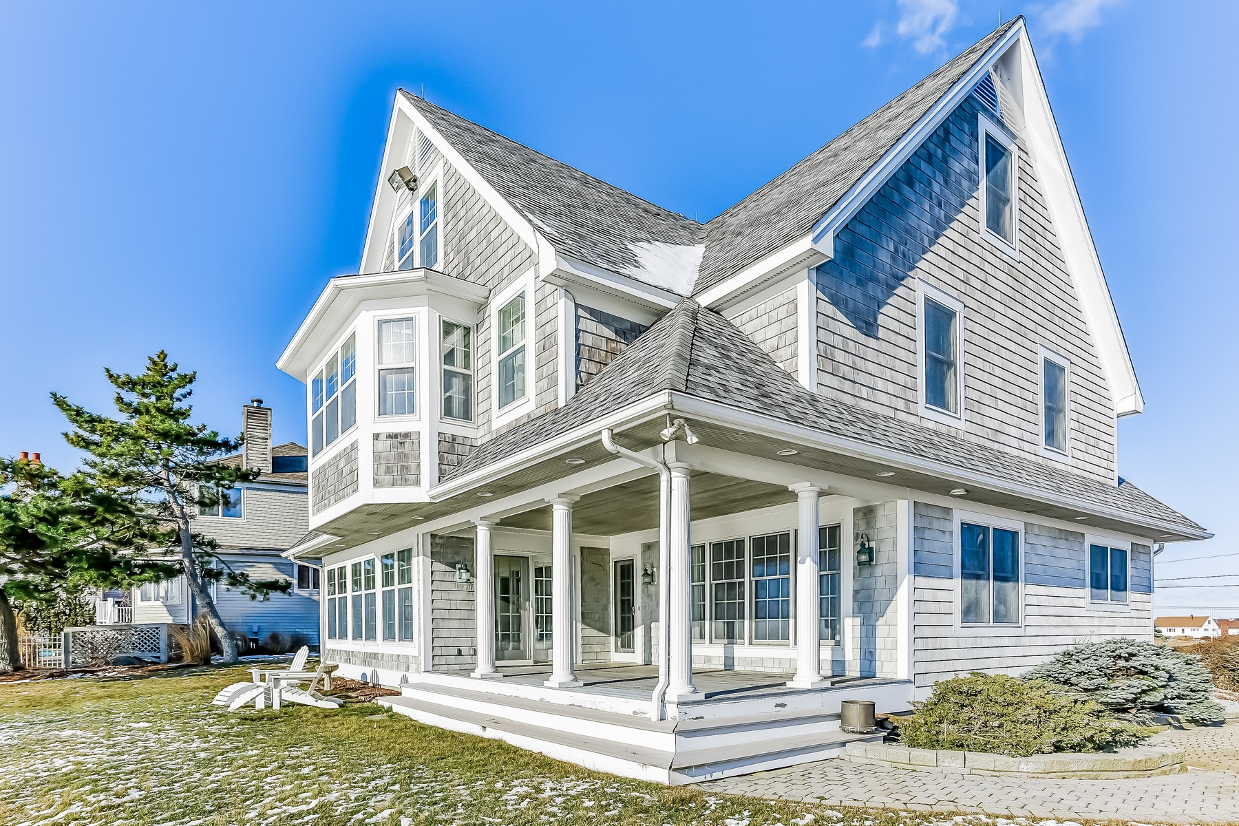sales property at Exceptional Ocean Front Nantucket Colonial