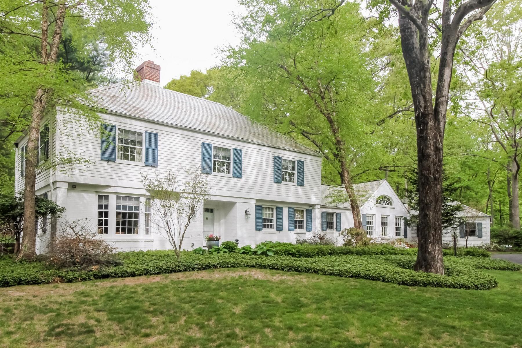 Einfamilienhaus für Verkauf beim 80 N Racebrook Road Woodbridge, Connecticut 06525 Vereinigte Staaten