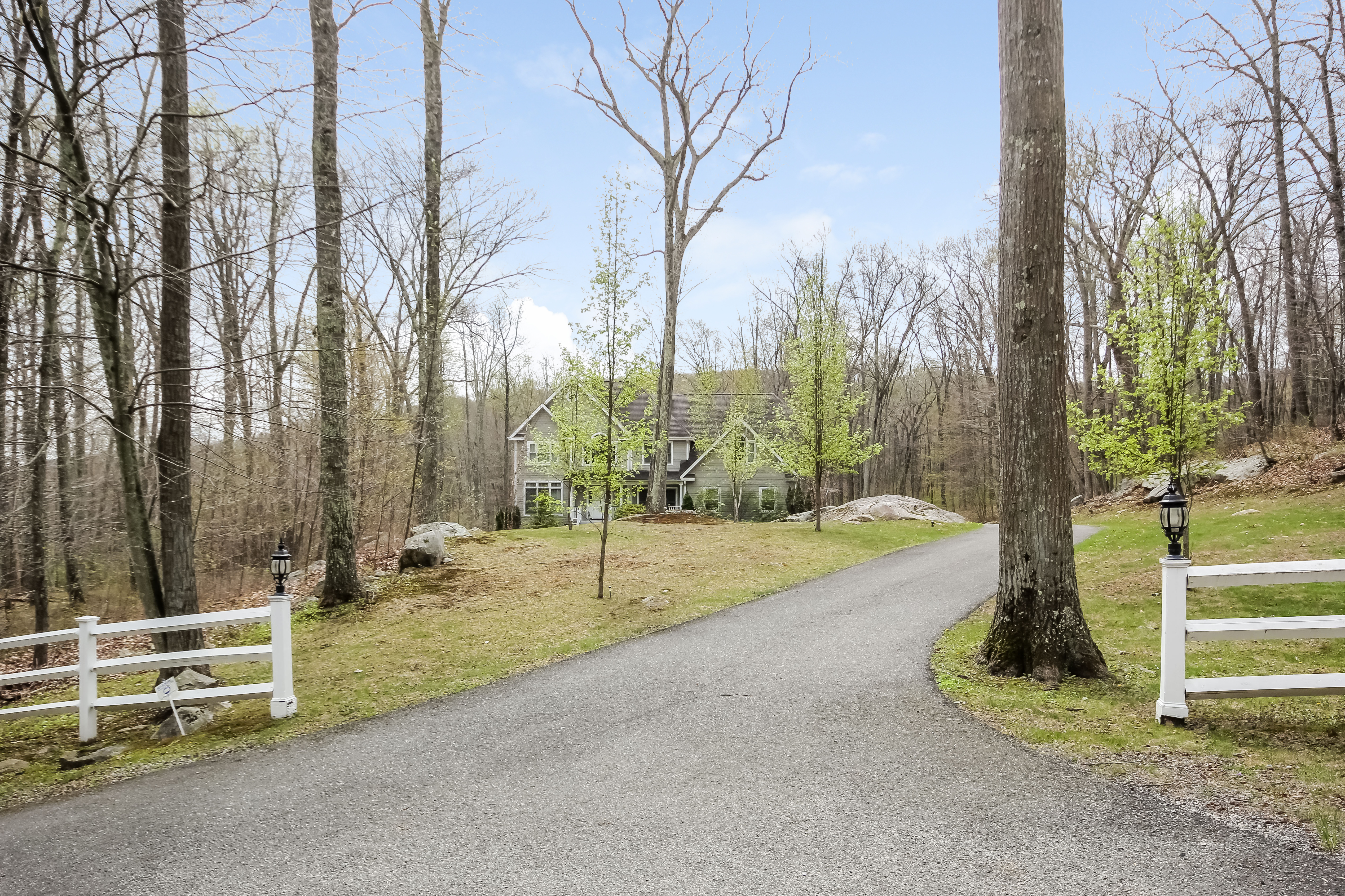 sales property at Elegant Colonial on 12 Acres