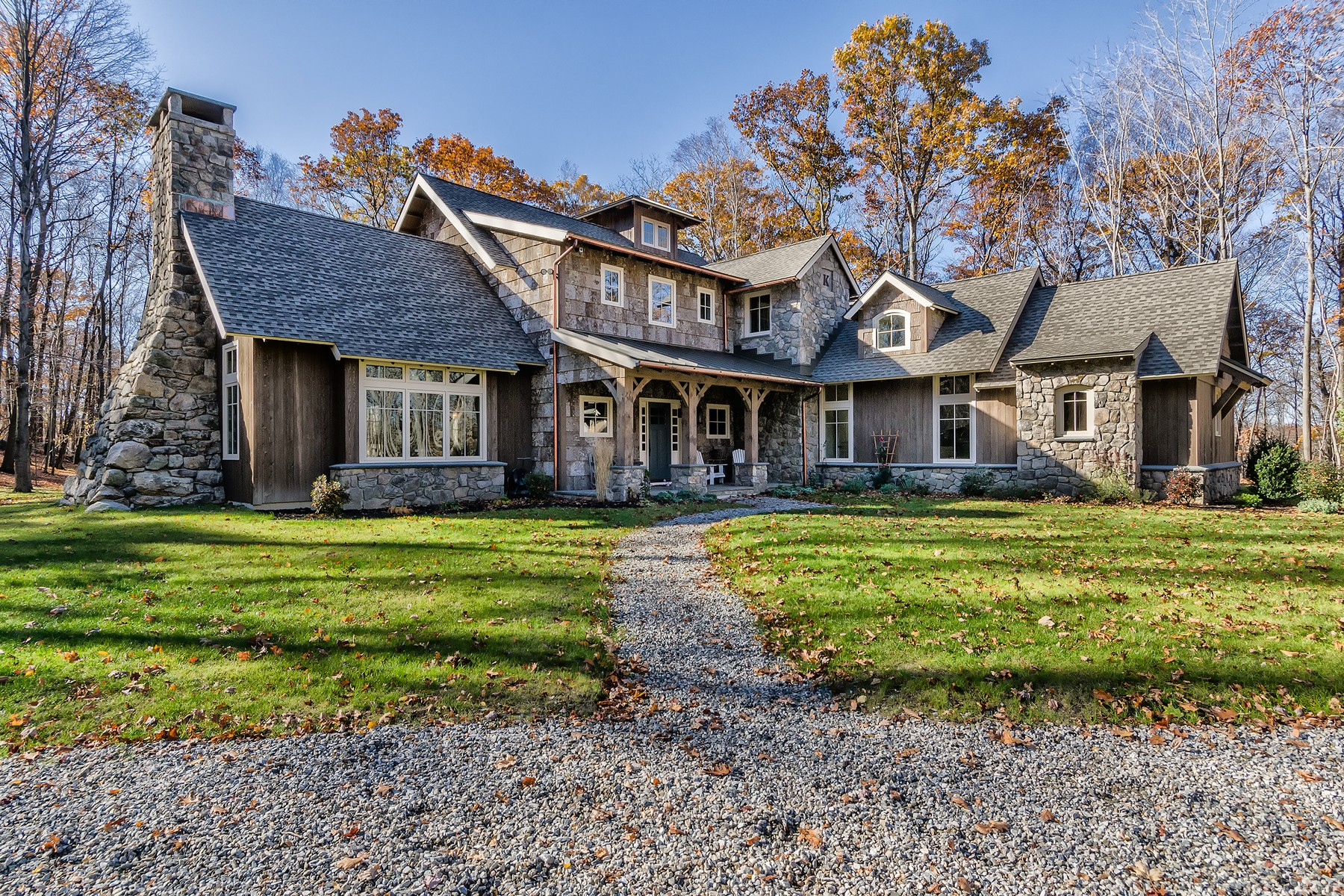 Single Family Home for Sale at Custom 4 Bedroom Colonial 49a Middle River Road Danbury, Connecticut 06811 United States