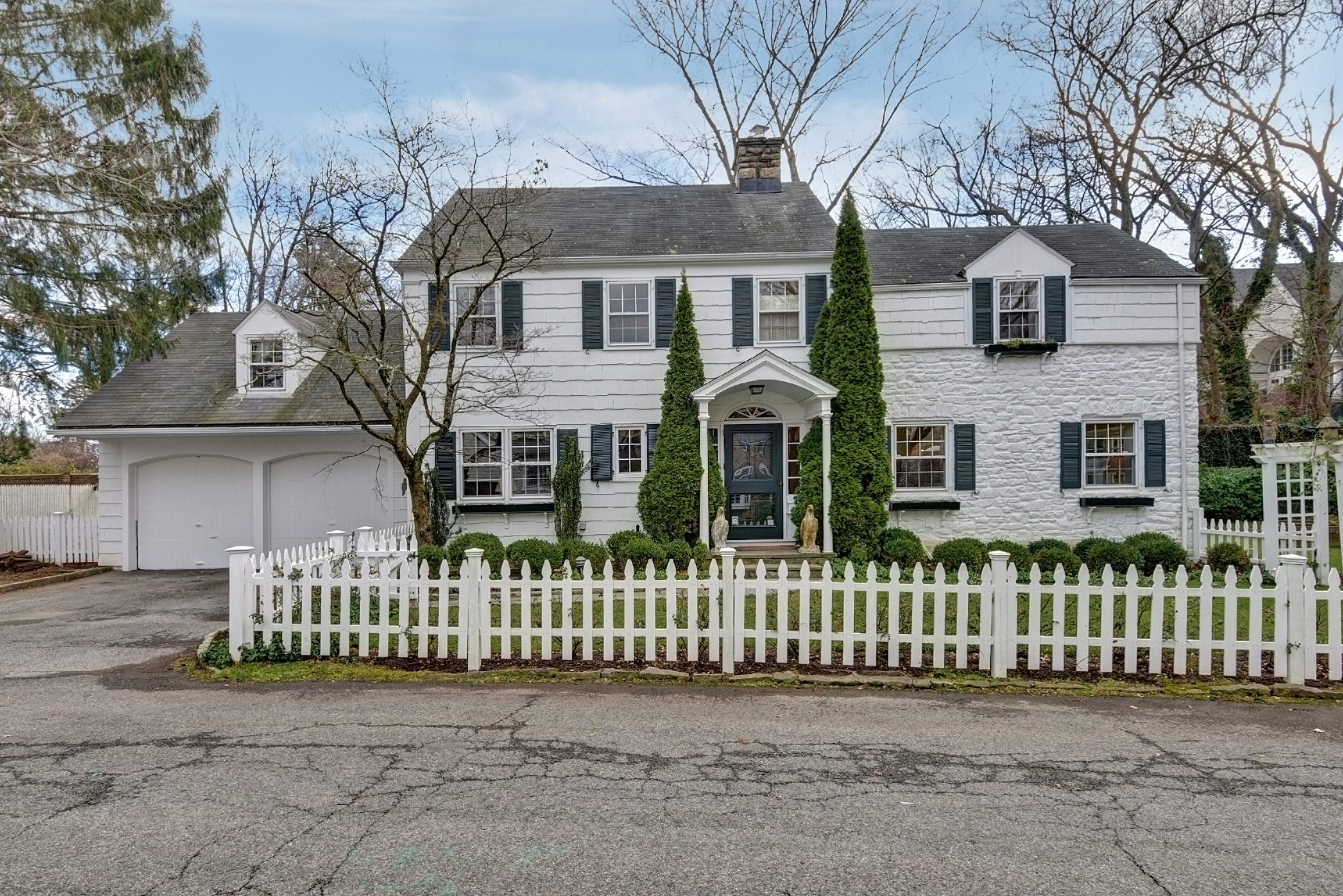 sales property at Larchmont Manor Colonial