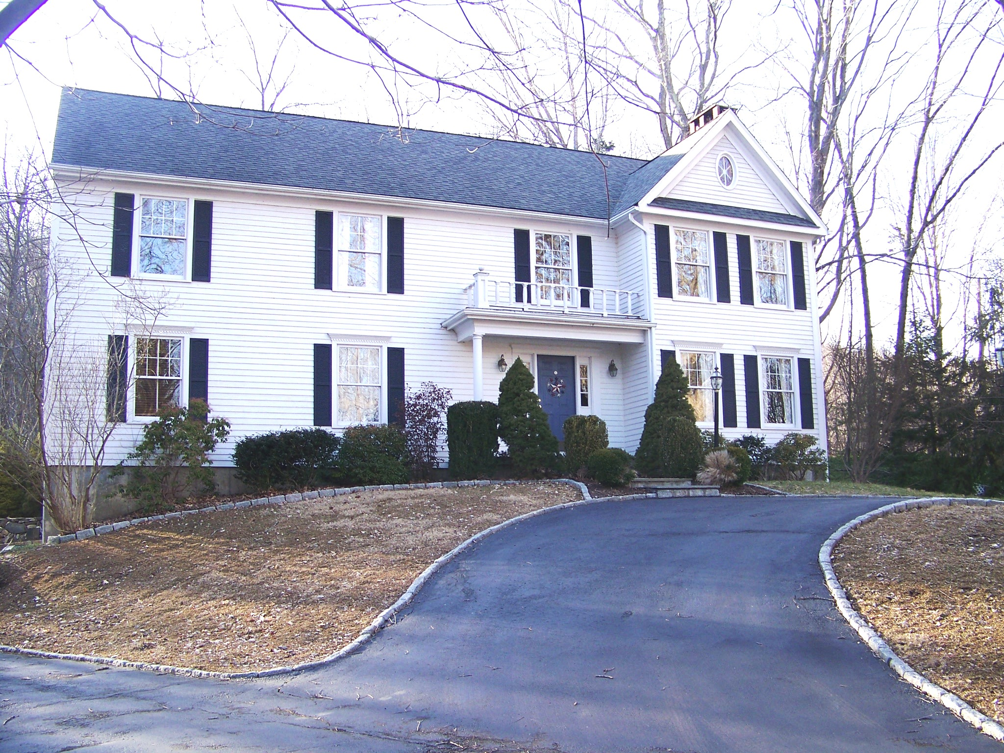 sales property at Colonial with Curb Appeal Abutting State Land