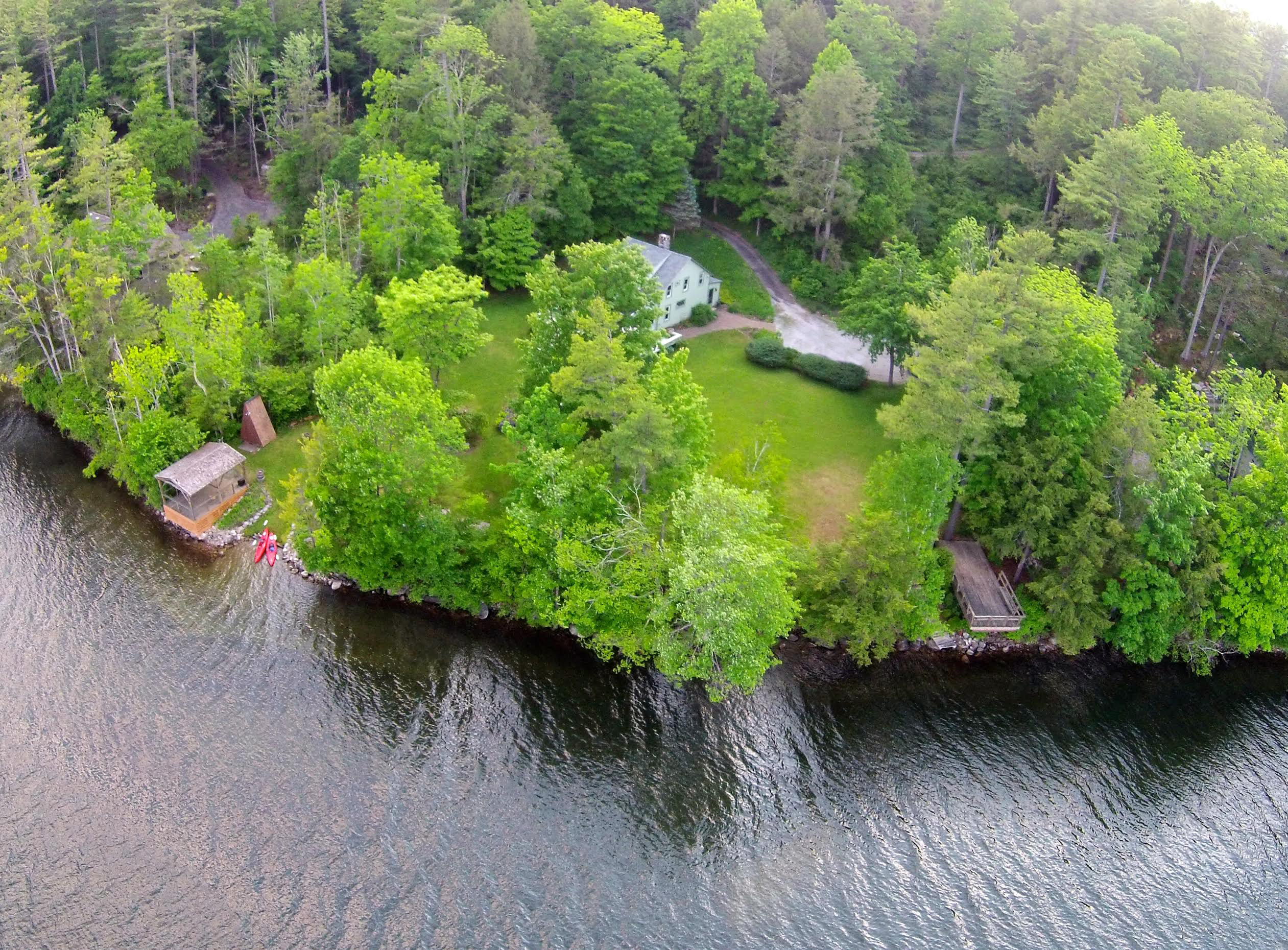 Property For Sale at 6 ACRE LAKEFRONT PARADISE ON STOCKBRIDGE BOWL W/ 2 HOMES!