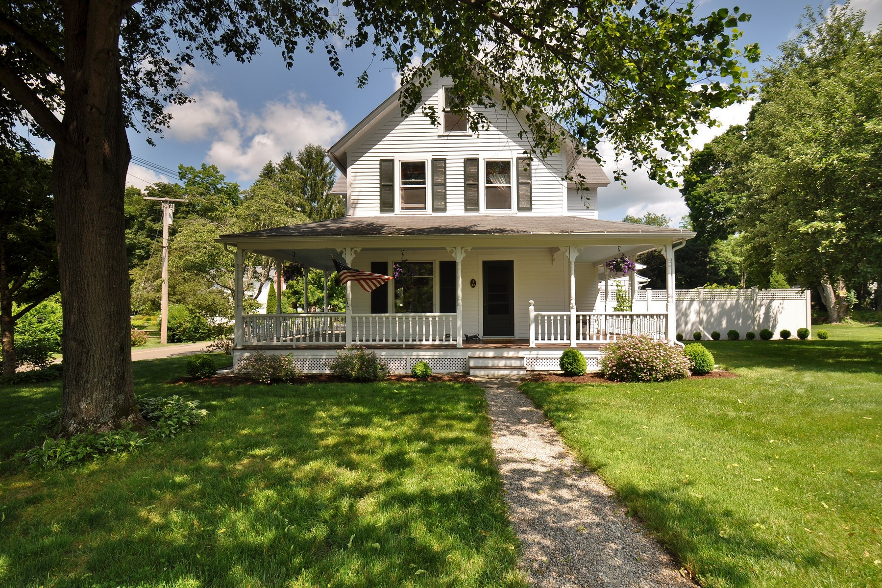 Property For Sale at Charming New England Farmhouse