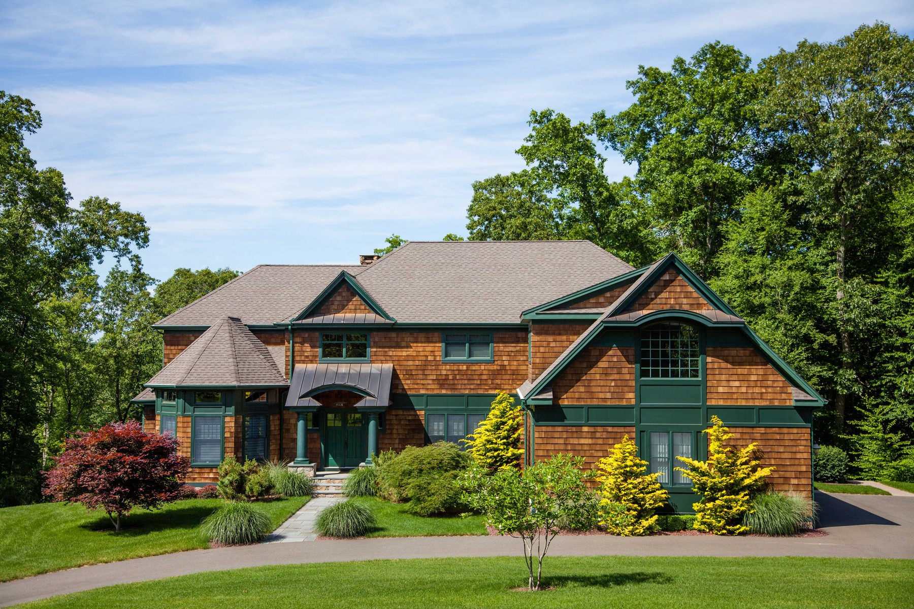 Property For Sale at Shingle Style Colonial on 5.86 Acres