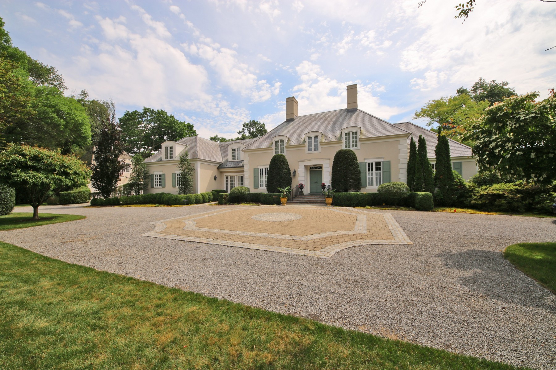 Single Family Home for Sale at French Country House in Southport 1011 Gunston Road Southport, Fairfield, Connecticut, 06890 United States