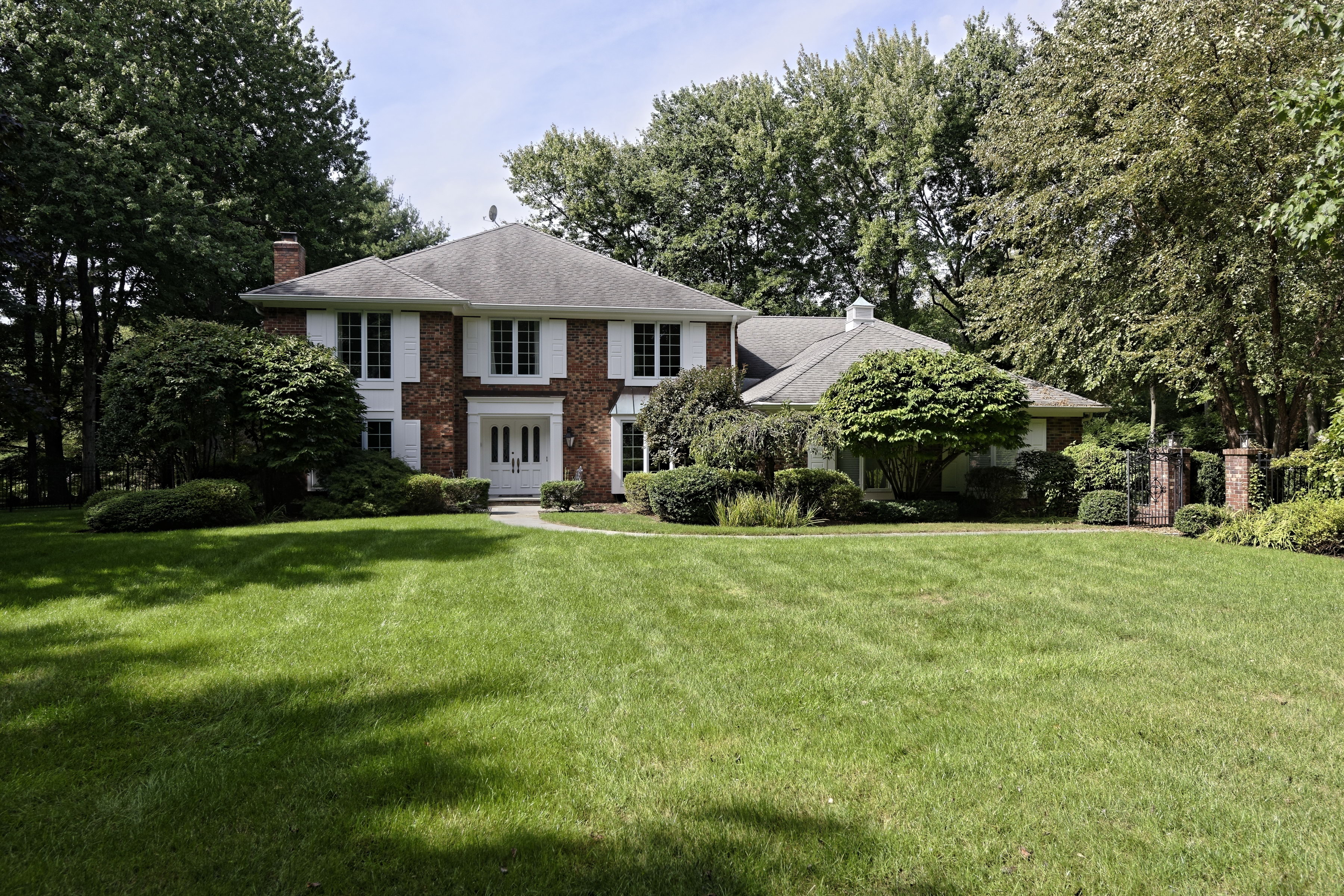 Single Family Home for Sale at Stunning Brick Residence 5069 Congress Street Fairfield, Connecticut, 06824 United States