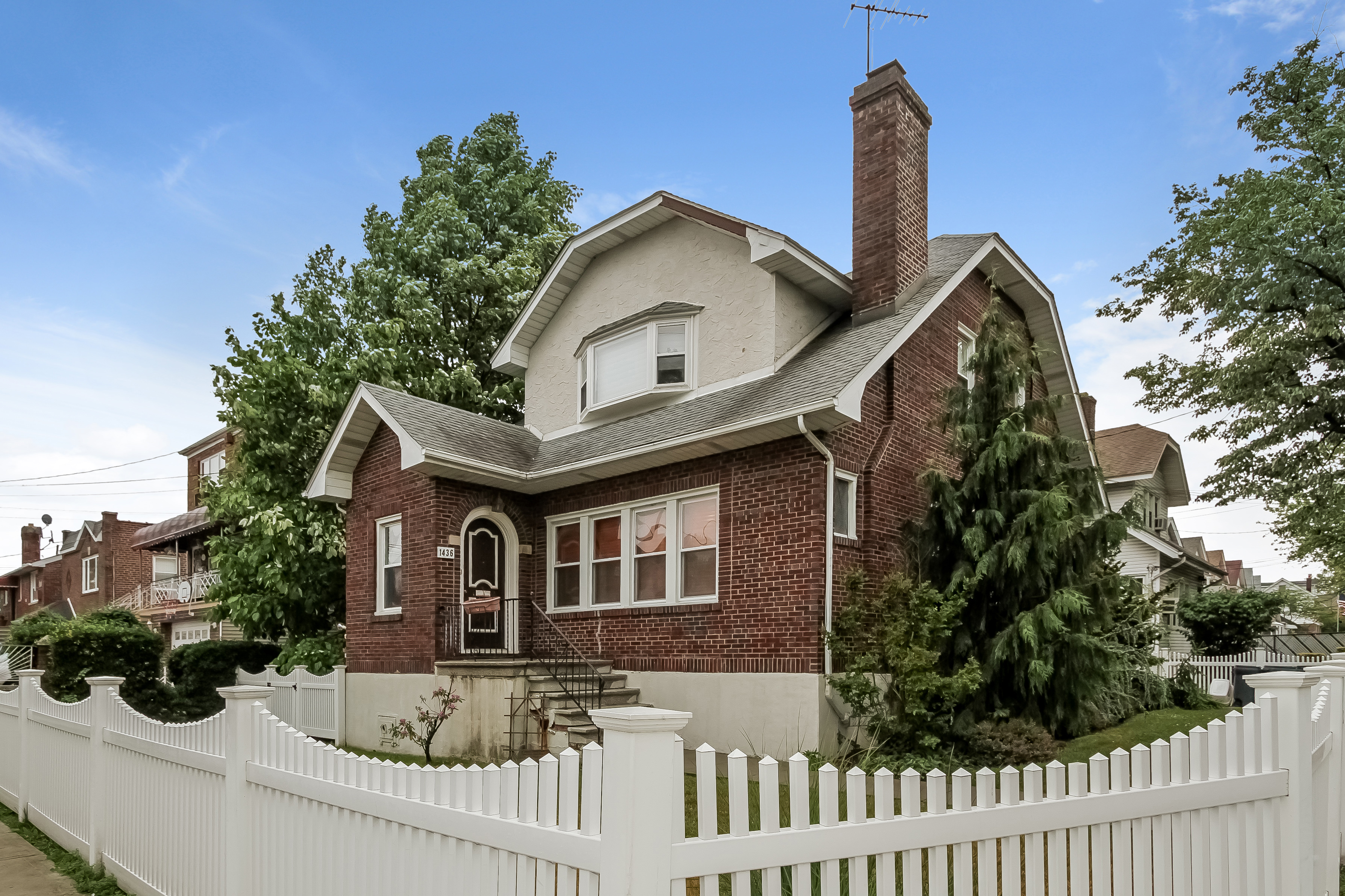 Multi-Family Home for Sale at Classic Brick Colonial 1436 Robertson Place Bronx, New York 10465 United States