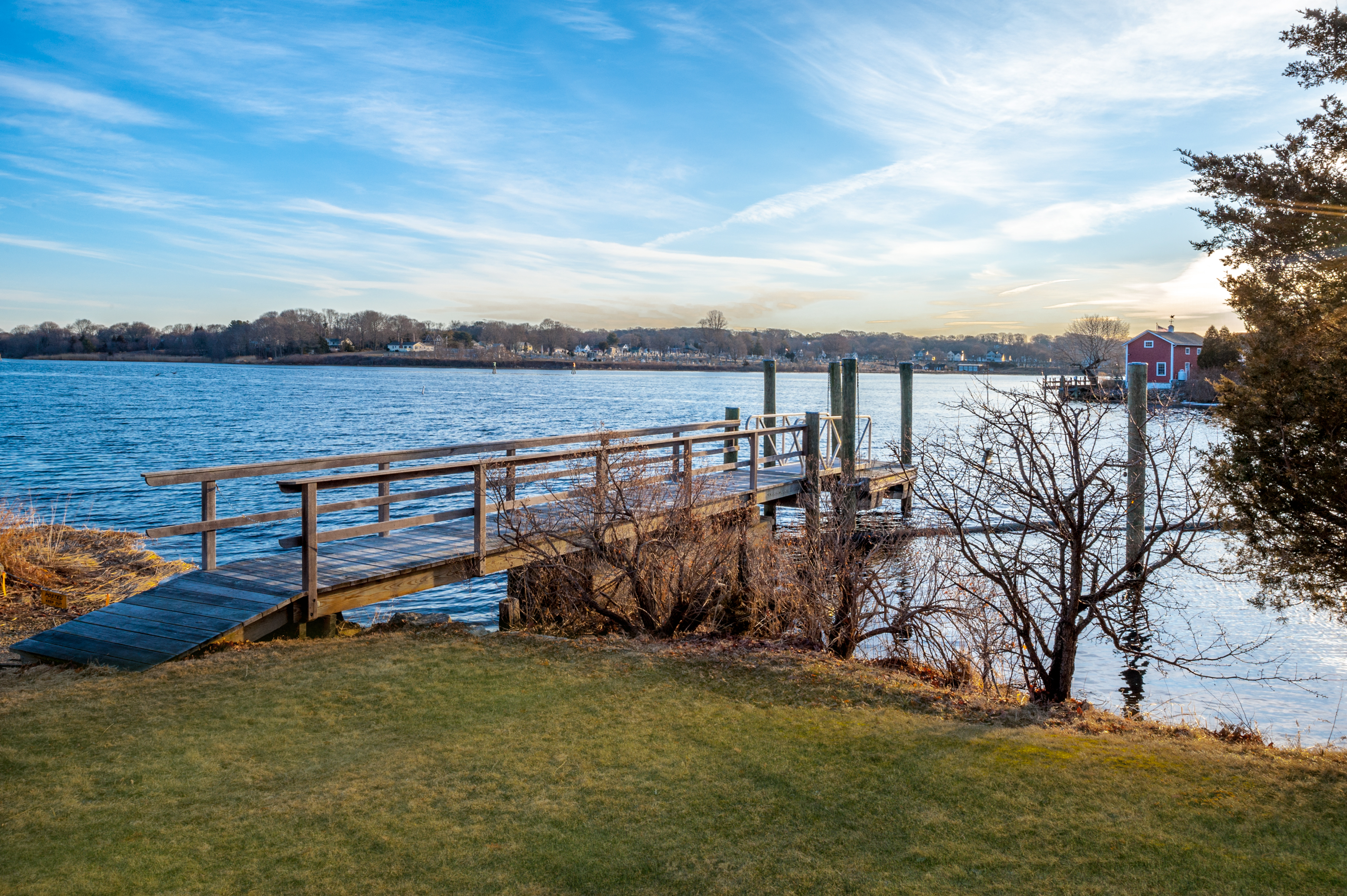 Single Family Home for Sale at Nantucket Style Waterfront Home 182 River Road Stonington, Connecticut 06379 United States