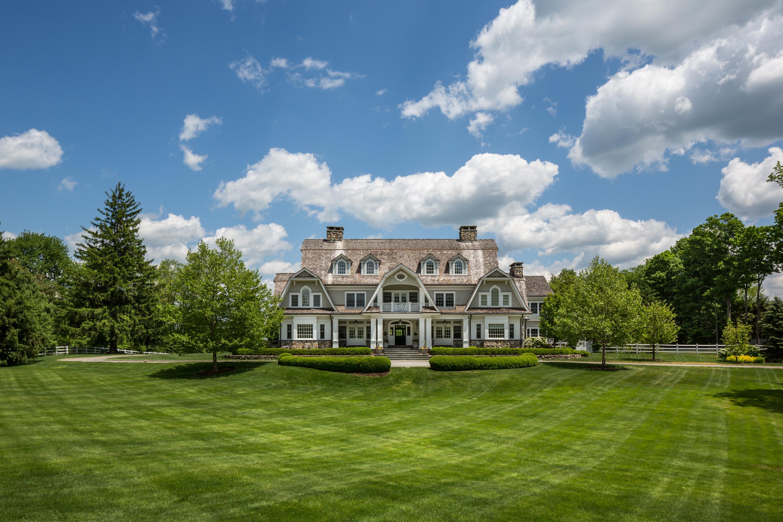 Casa Unifamiliar por un Venta en Gold Coast Masterpiece 727 Smith Ridge Road New Canaan, Connecticut 06840 Estados Unidos