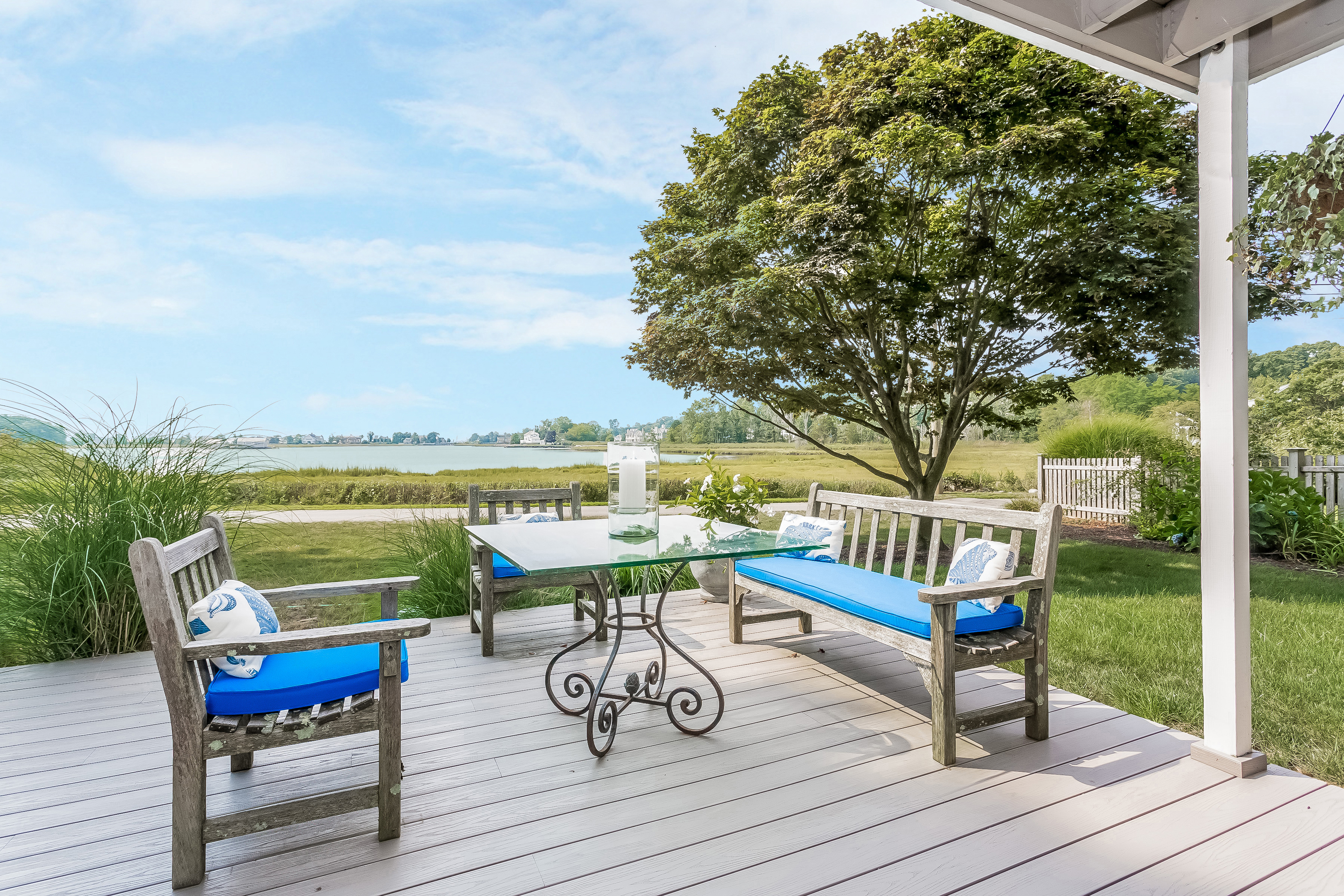 Single Family Home for Sale at Panaromic Water Views 94 Grove Point Road Westport, Connecticut, 06880 United States