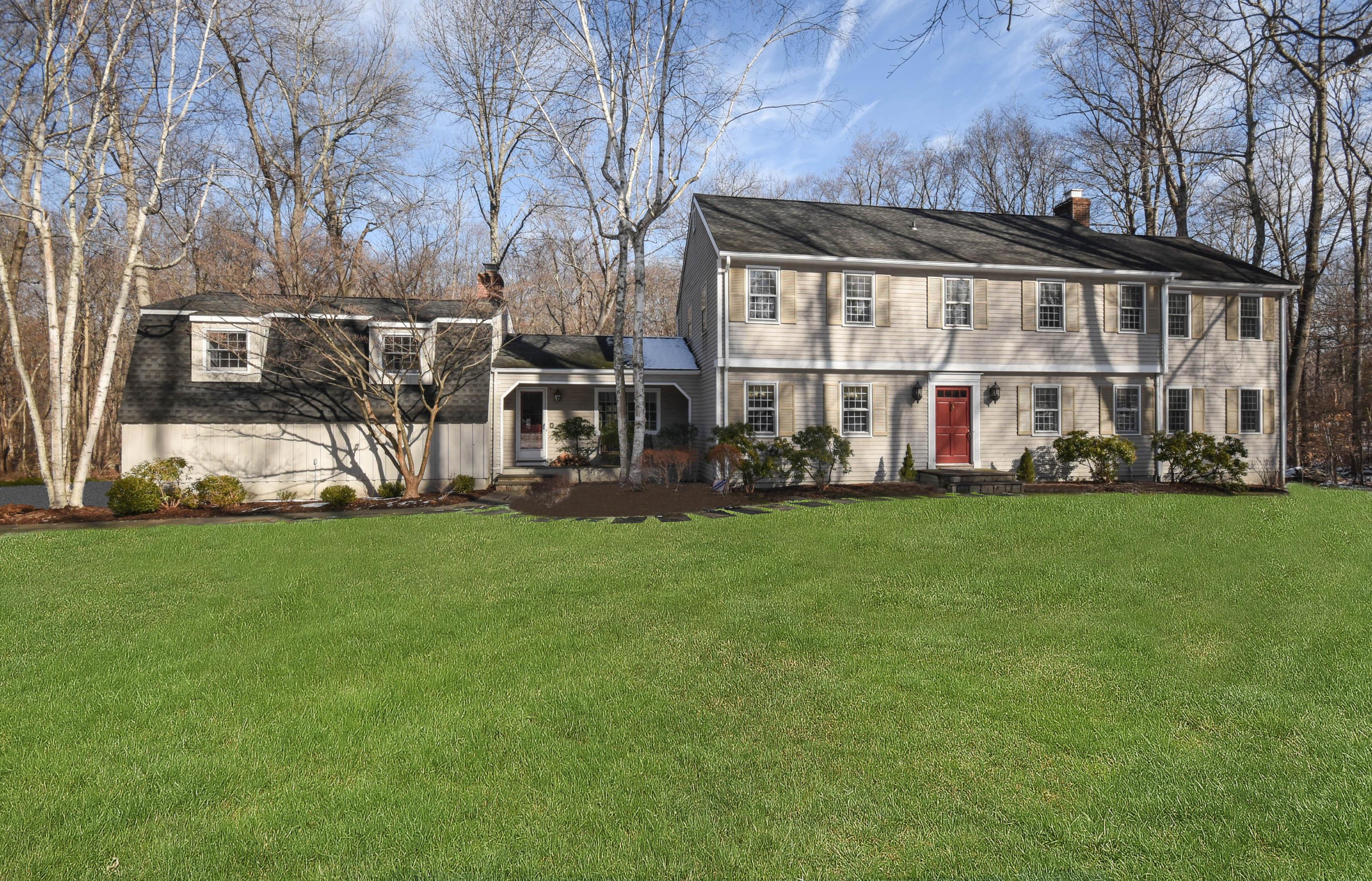 Casa Unifamiliar por un Venta en Lower Weston 3 Narrow Brook Road Weston, Connecticut, 06883 Estados Unidos