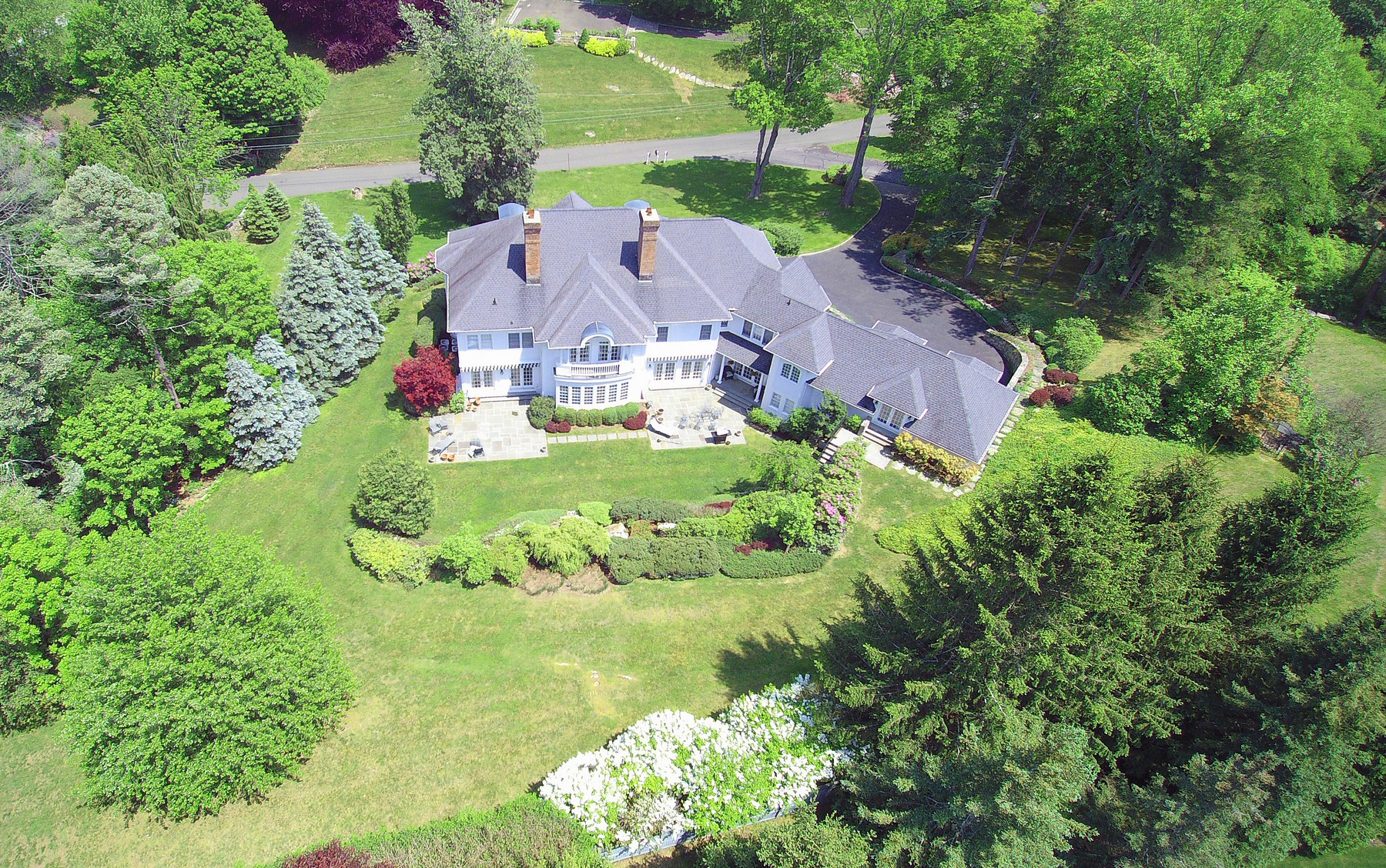 Single Family Home for Sale at Exquisite Custom Home 6 Country Club Road Ridgefield, Connecticut, 06877 United States