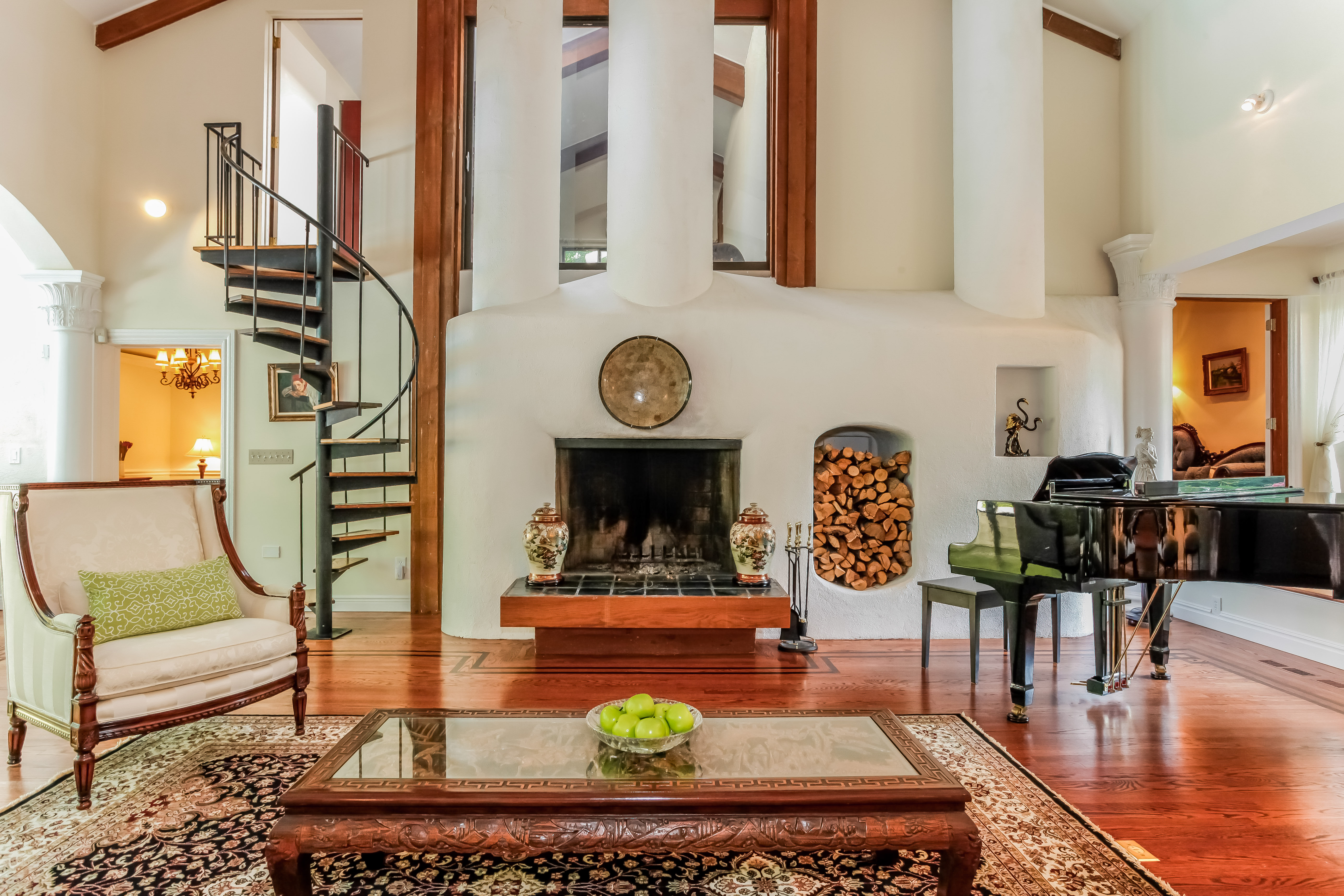 Casa para uma família para Venda às Spectacular Contemporary 14 Park Road Scarsdale, Nova York 10583 Estados Unidos