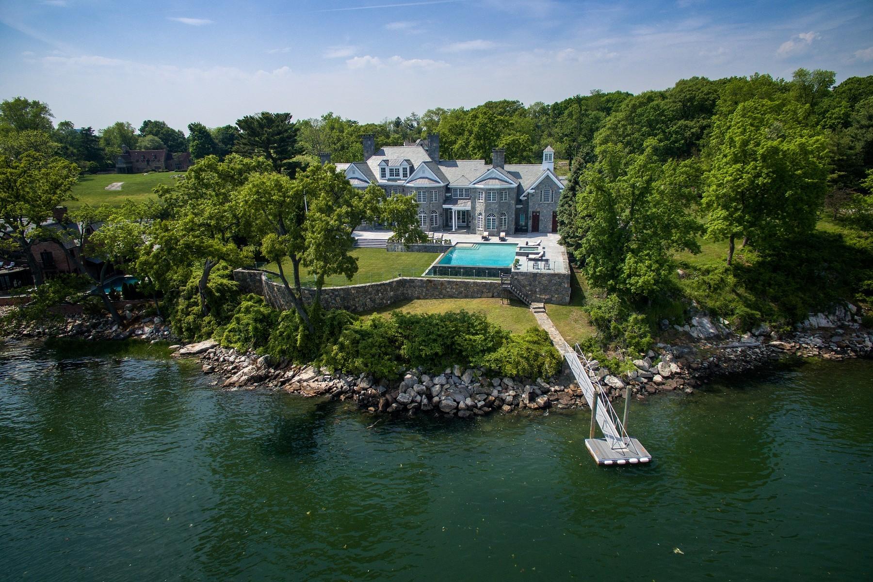 Property Of Elegant Waterfront Georgian Manor
