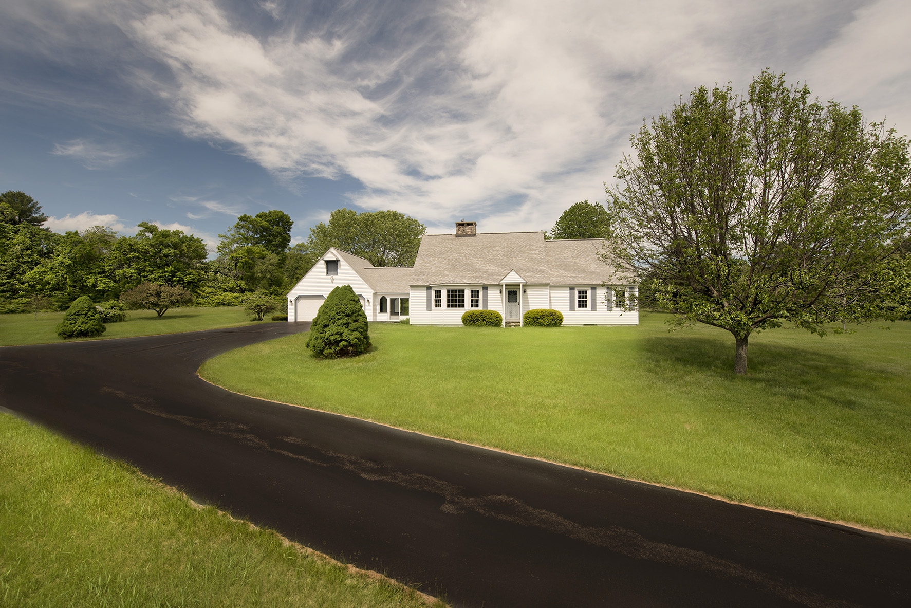 Single Family Home for Sale at Outstanding 140+ Acre Property, with picturesque 2,379 SF Cape. 540 Main Rd Monterey, Massachusetts, 01245 United States
