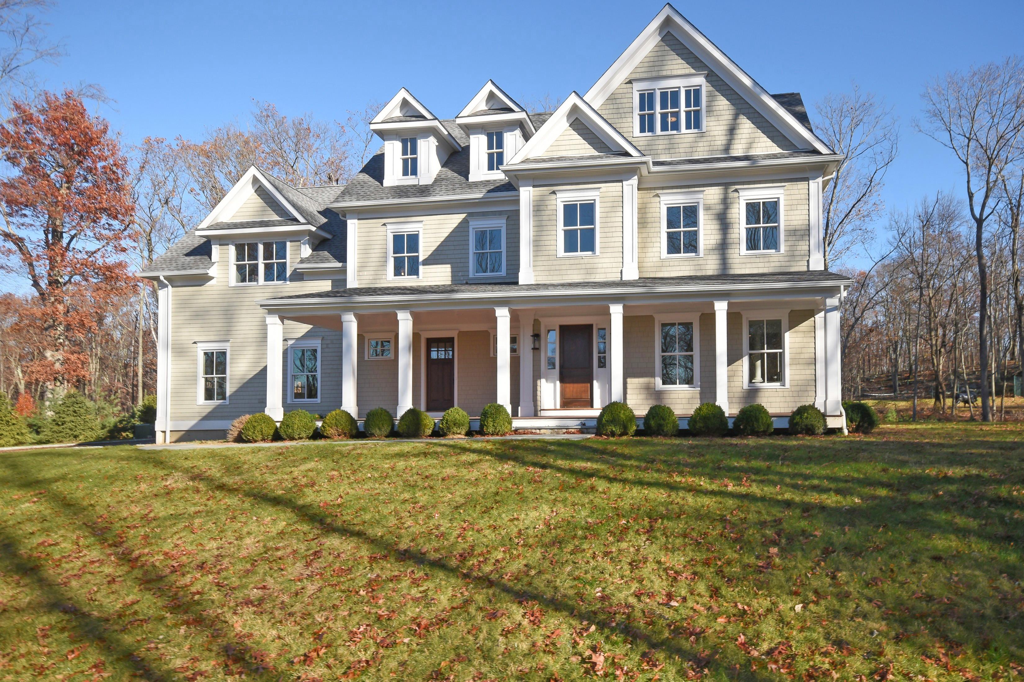 단독 가정 주택 용 매매 에 24 Hillcrest Lane Weston, 코네티컷, 06883 미국