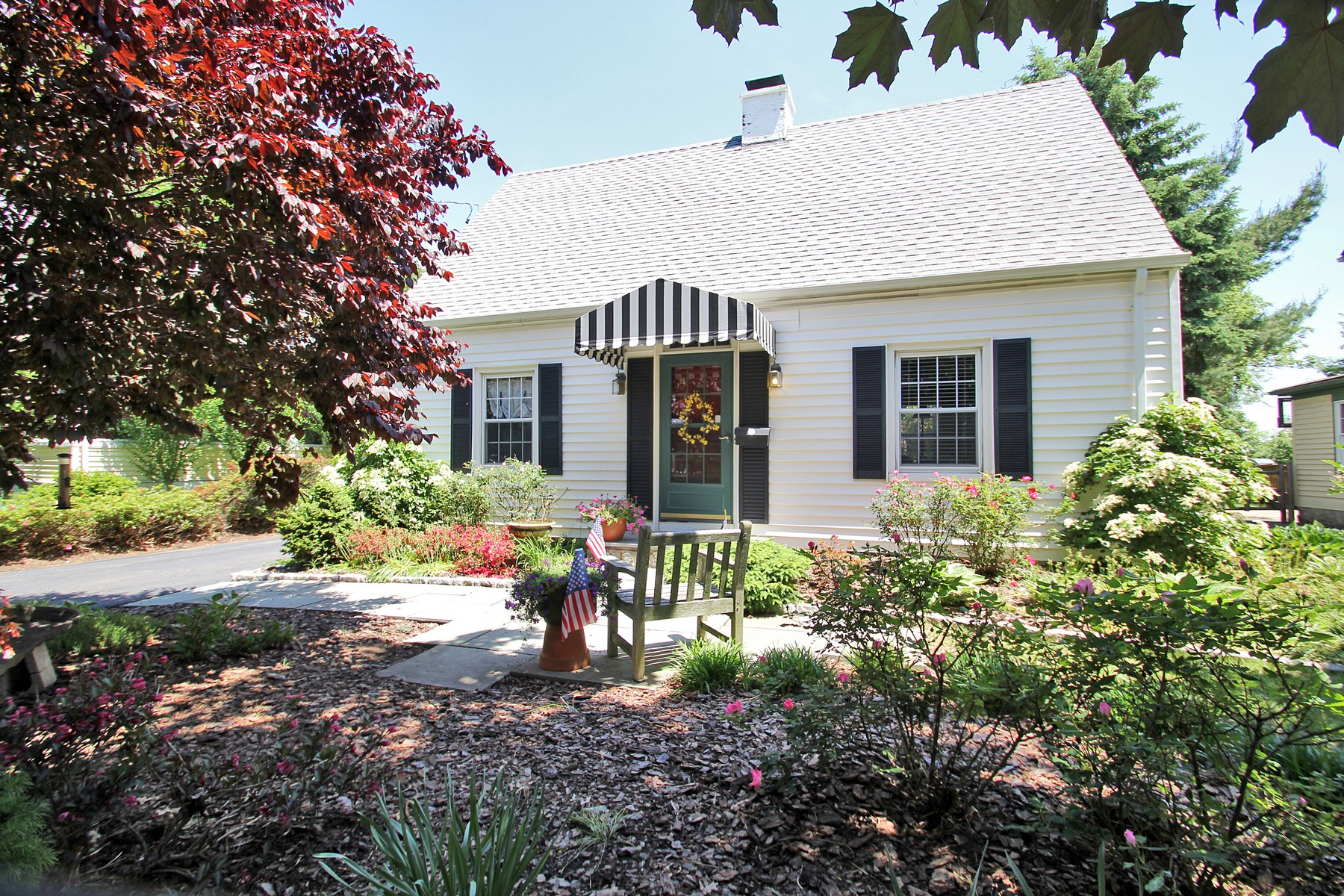 sales property at Charming, Beautifully Maintained Cape Cod Home