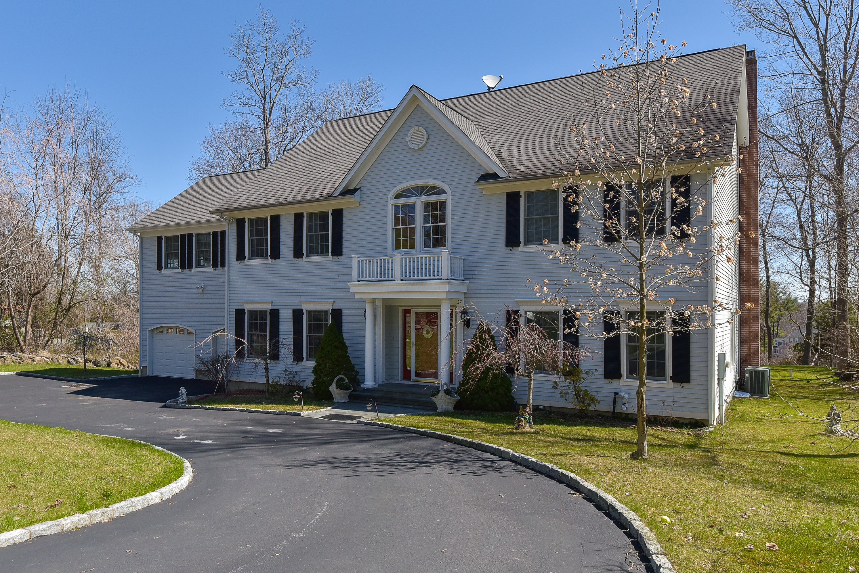 Single Family Home for Sale at Custom Built Colonial 27 Bracchi Drive Stamford, Connecticut, 06903 United States