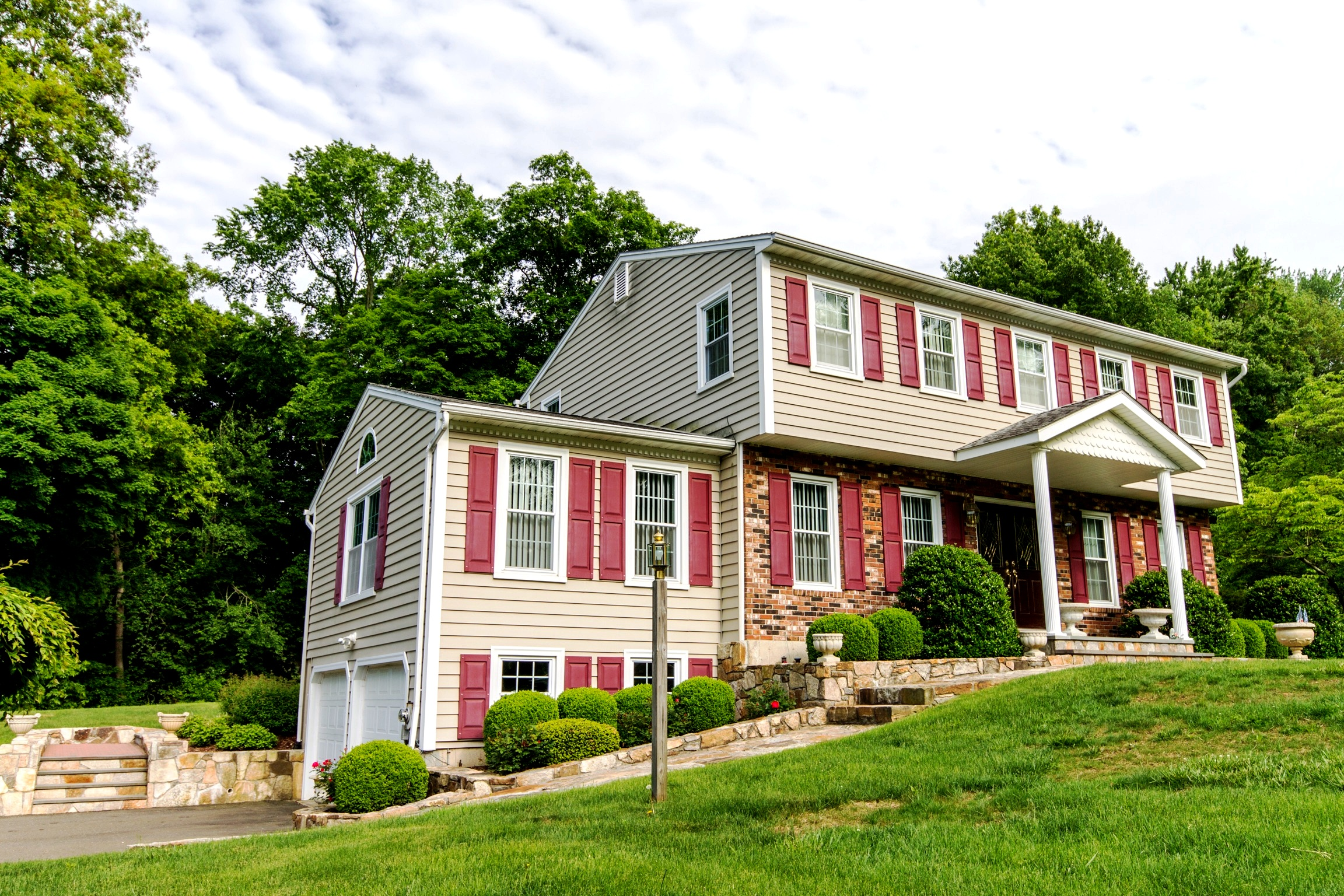 Single Family Home for Sale at Immaculate Colonial 8 Caisson Drive Danbury, Connecticut 06810 United States