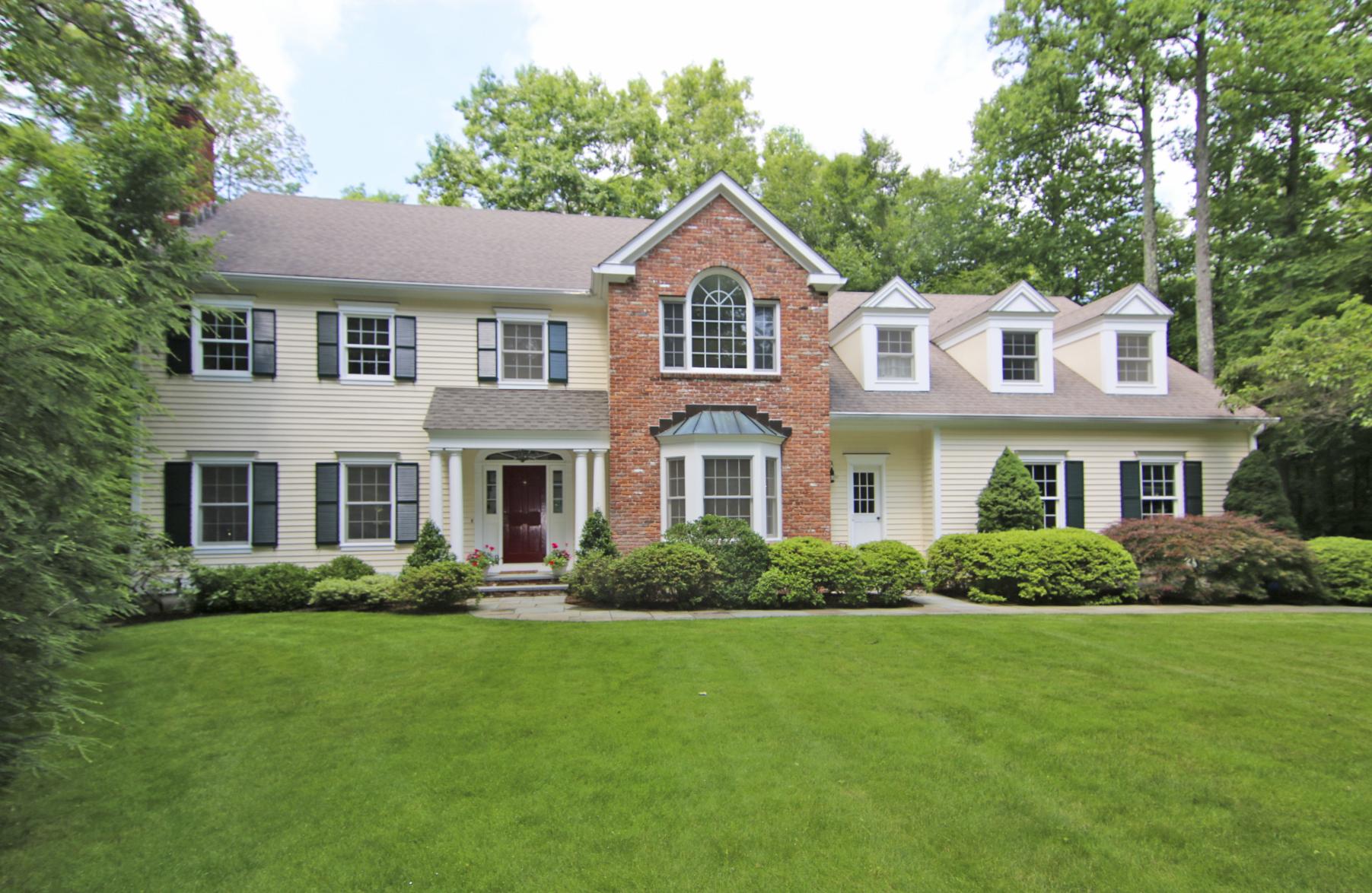 Villa per Vendita alle ore Country Haven 38 Breeds Hill Road Wilton, Connecticut 06897 Stati Uniti