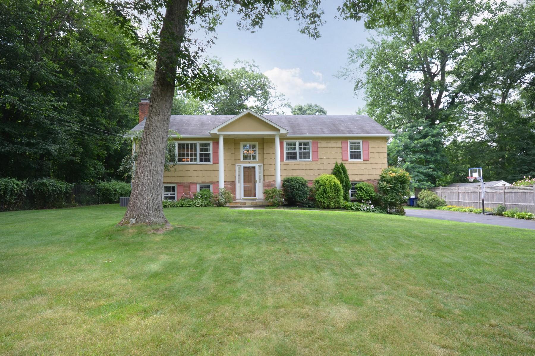 Частный односемейный дом для того Продажа на Warm & Inviting 7 Orchard Hill Road Norwalk, Коннектикут 06851 Соединенные Штаты