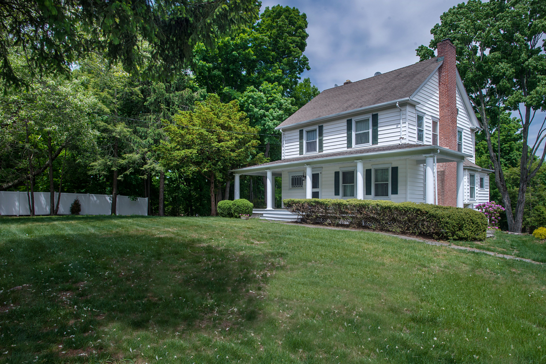 Single Family Home for Sale at Antique Lovers Delight 444 White Oak Shade Road New Canaan, Connecticut 06840 United States