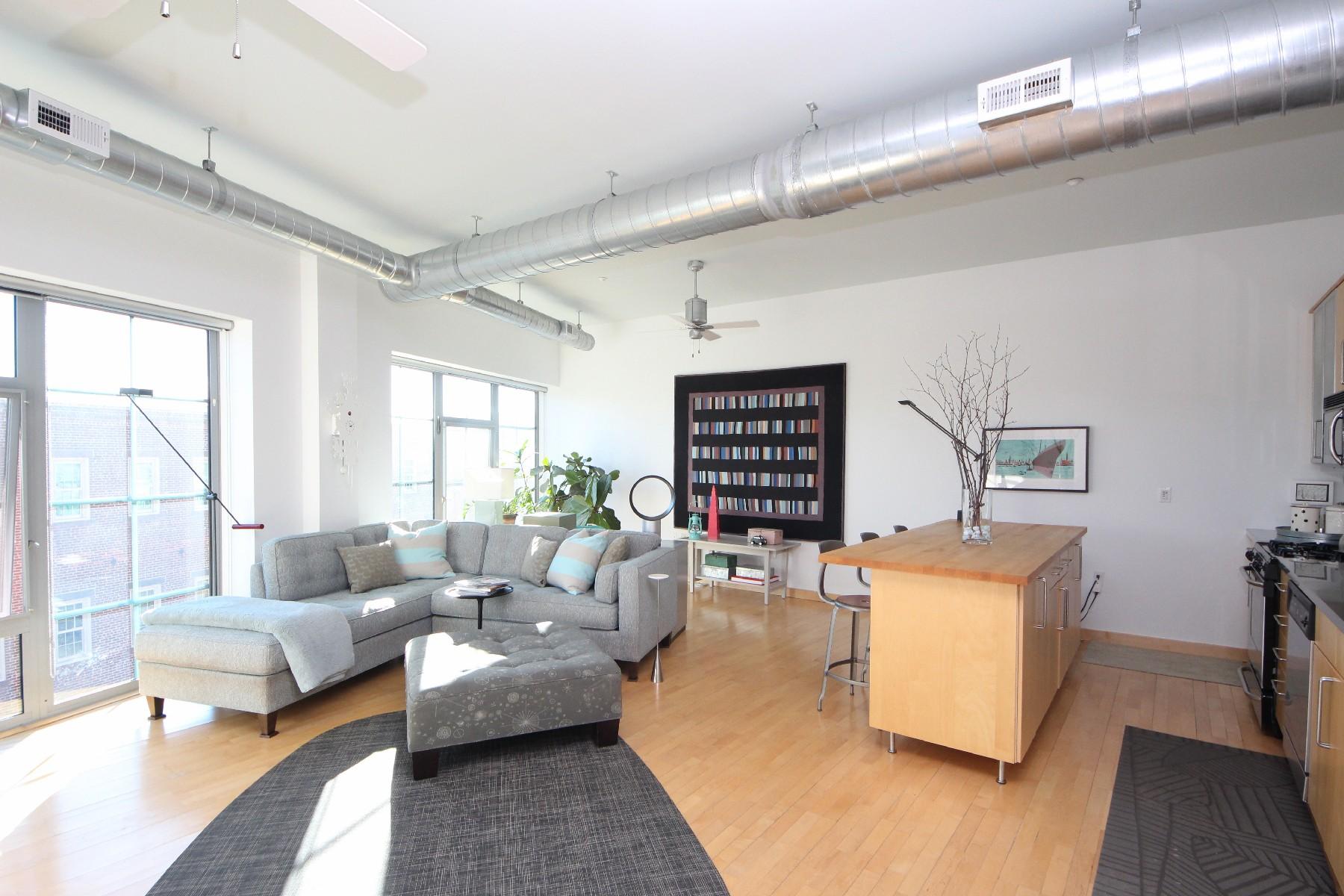 Appartement en copropriété pour l Vente à In The Heart Of Sono 25 Marshall Street 3D Norwalk, Connecticut, 06854 États-Unis