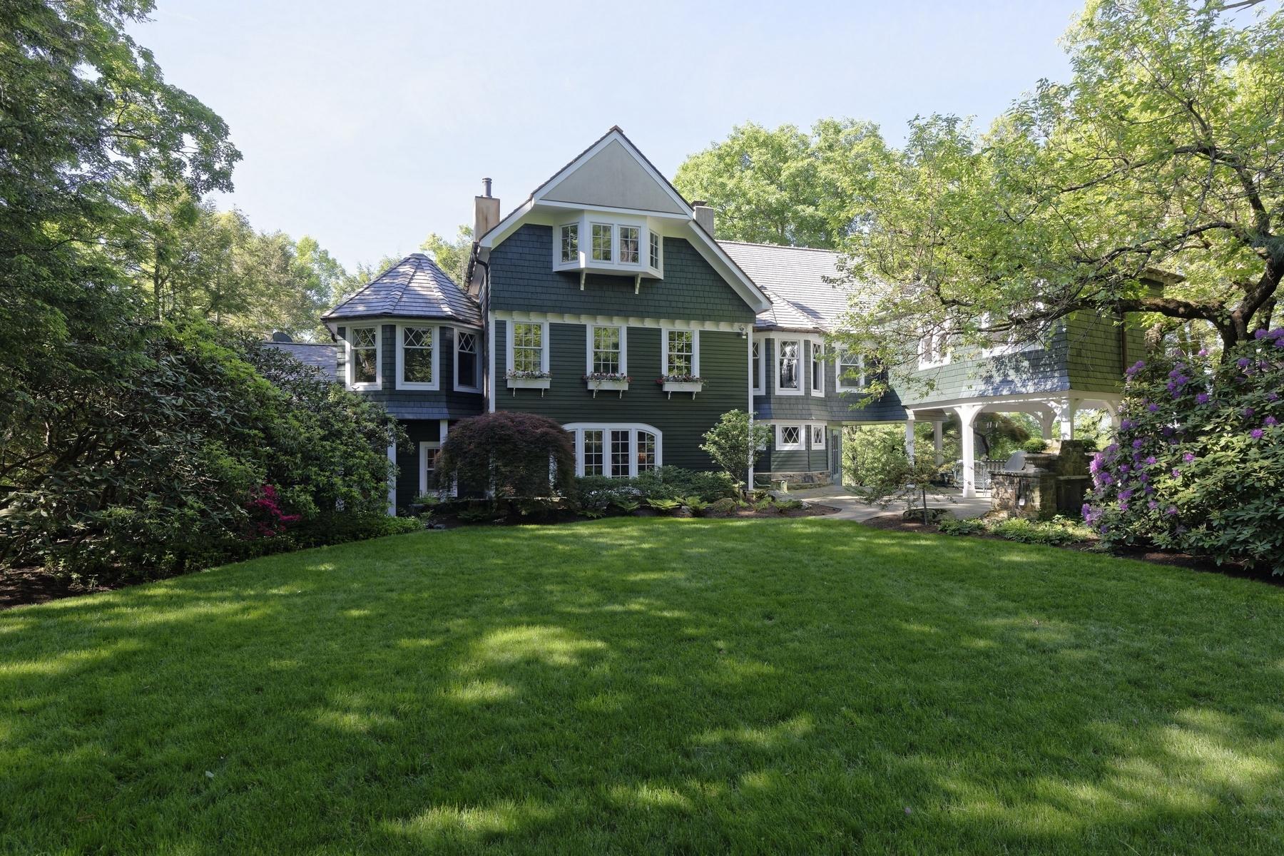 Casa para uma família para Venda às Spectacular Hudson River views 148 Tower Hill Road Briarcliff Manor, Nova York 10510 Estados Unidos