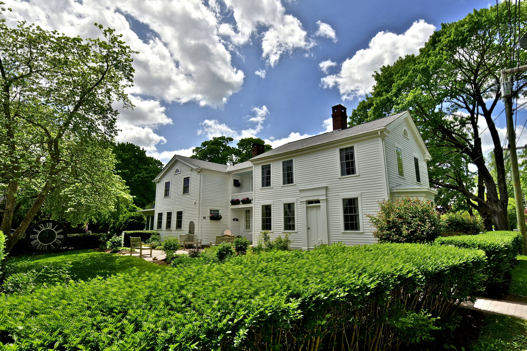 Single Family Home for Sale at Enchanting Village Antique is Perfect! 10 Ferry Old Lyme, Connecticut, 06371 United States