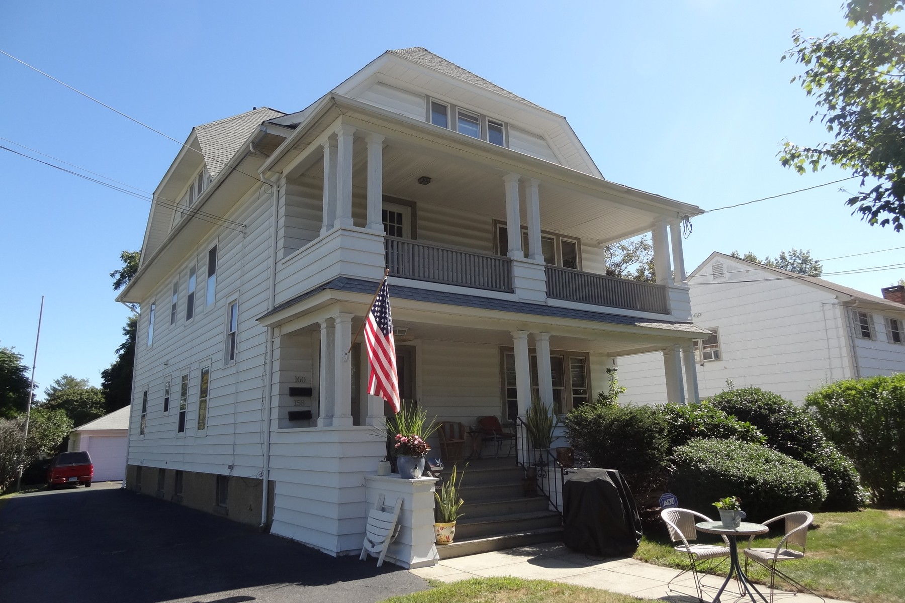 Property For Sale at Black Rock 2nd Floor Apartment with Spacious Rooms and Great Porch