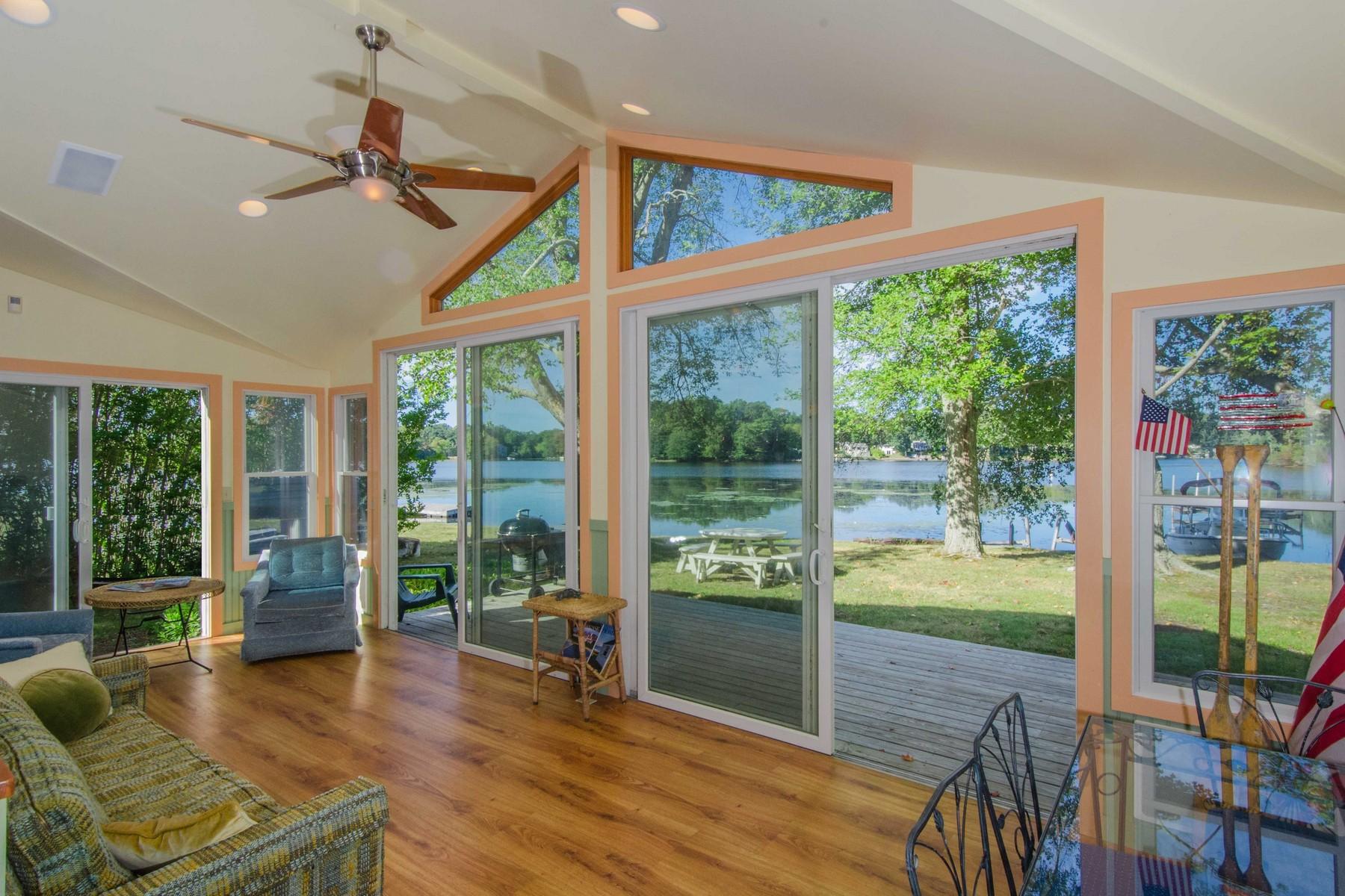 独户住宅 为 销售 在 Spectacular Water Views 78 Grassy Hill Road Old Lyme, 康涅狄格州 06371 美国