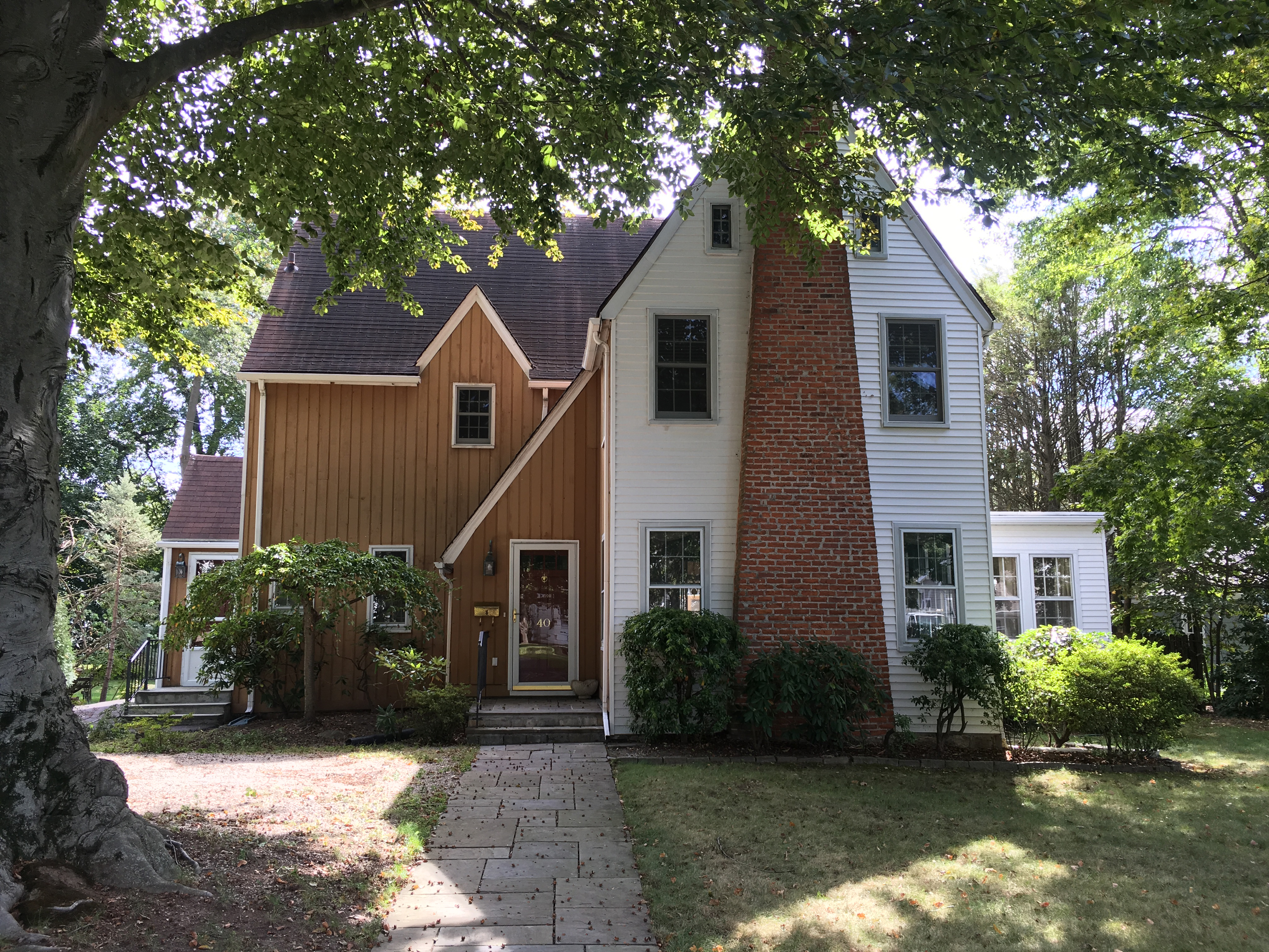 Single Family Home for Sale at Vintage Colonial 40 Ralsey Road Stamford, Connecticut, 06902 United States