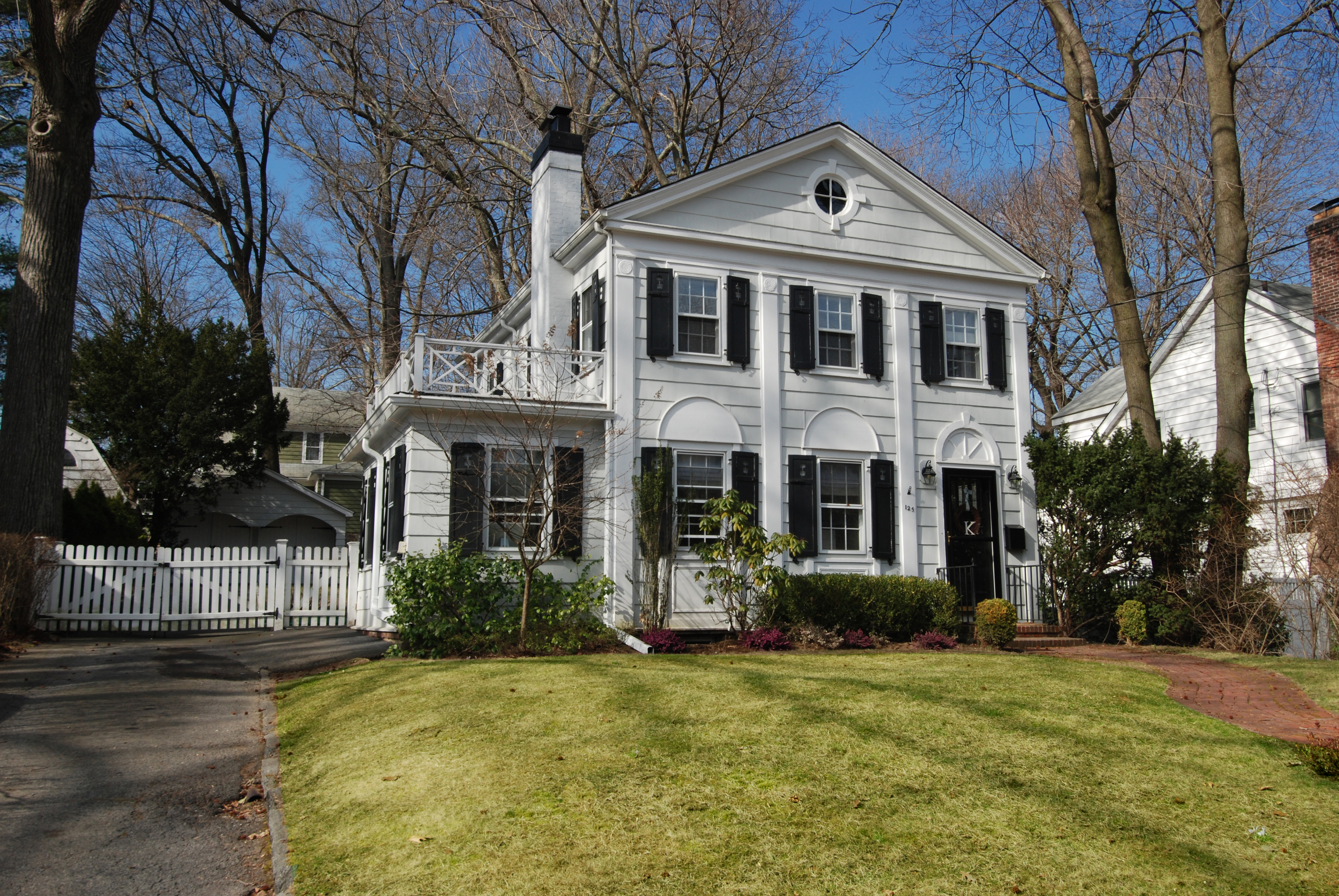 sales property at Larchmont Colonial Charmer