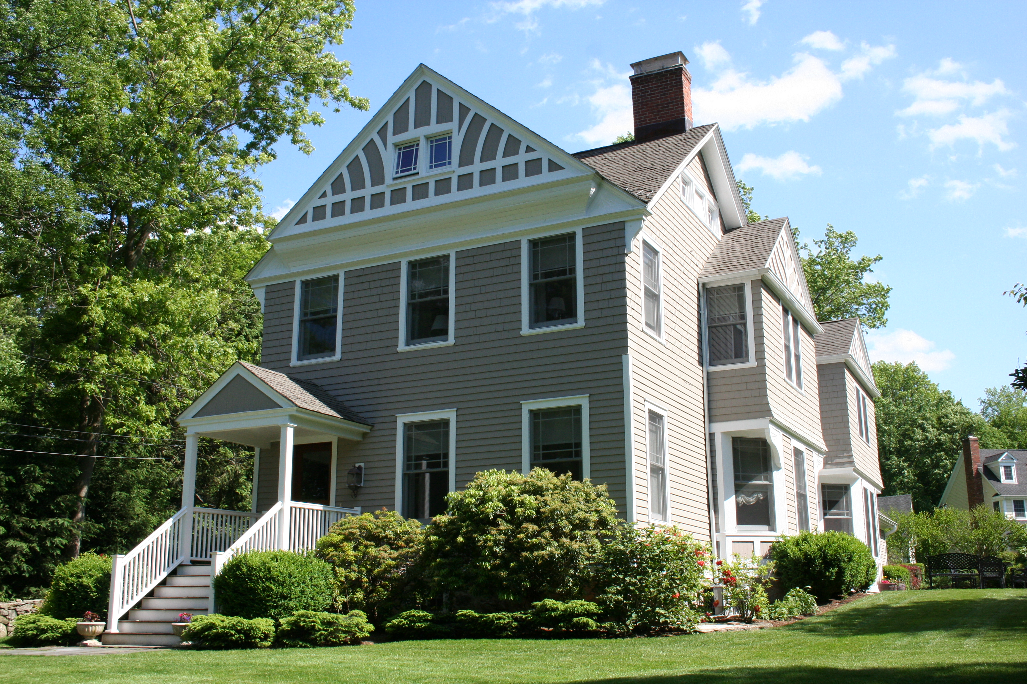 Single Family Home for Sale at Completely Renovated Colonial Antique 57 Barry Avenue Ridgefield, Connecticut 06877 United States