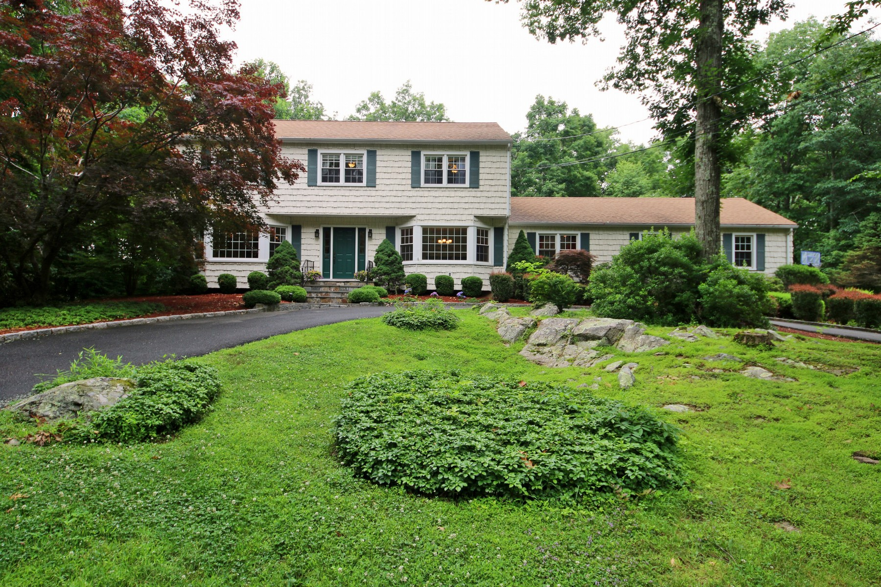 Single Family Home for Sale at Immaculate & Updated Center Hall Colonial 84 Revere Drive Ridgefield, Connecticut 06877 United States