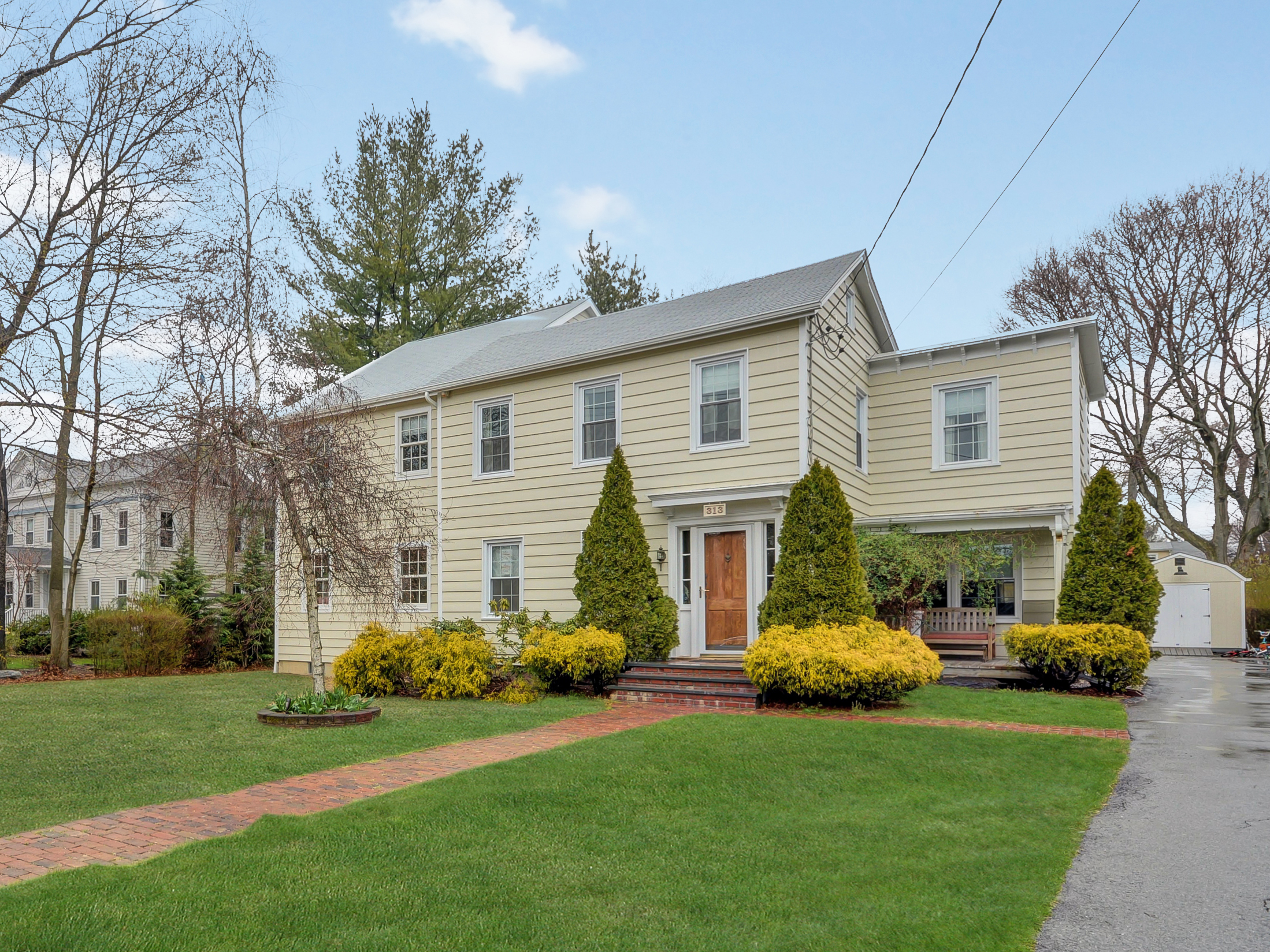 Single Family Home for Sale at Enchanting Setting 313 North Barry Avenue Mamaroneck, New York, 10543 United States
