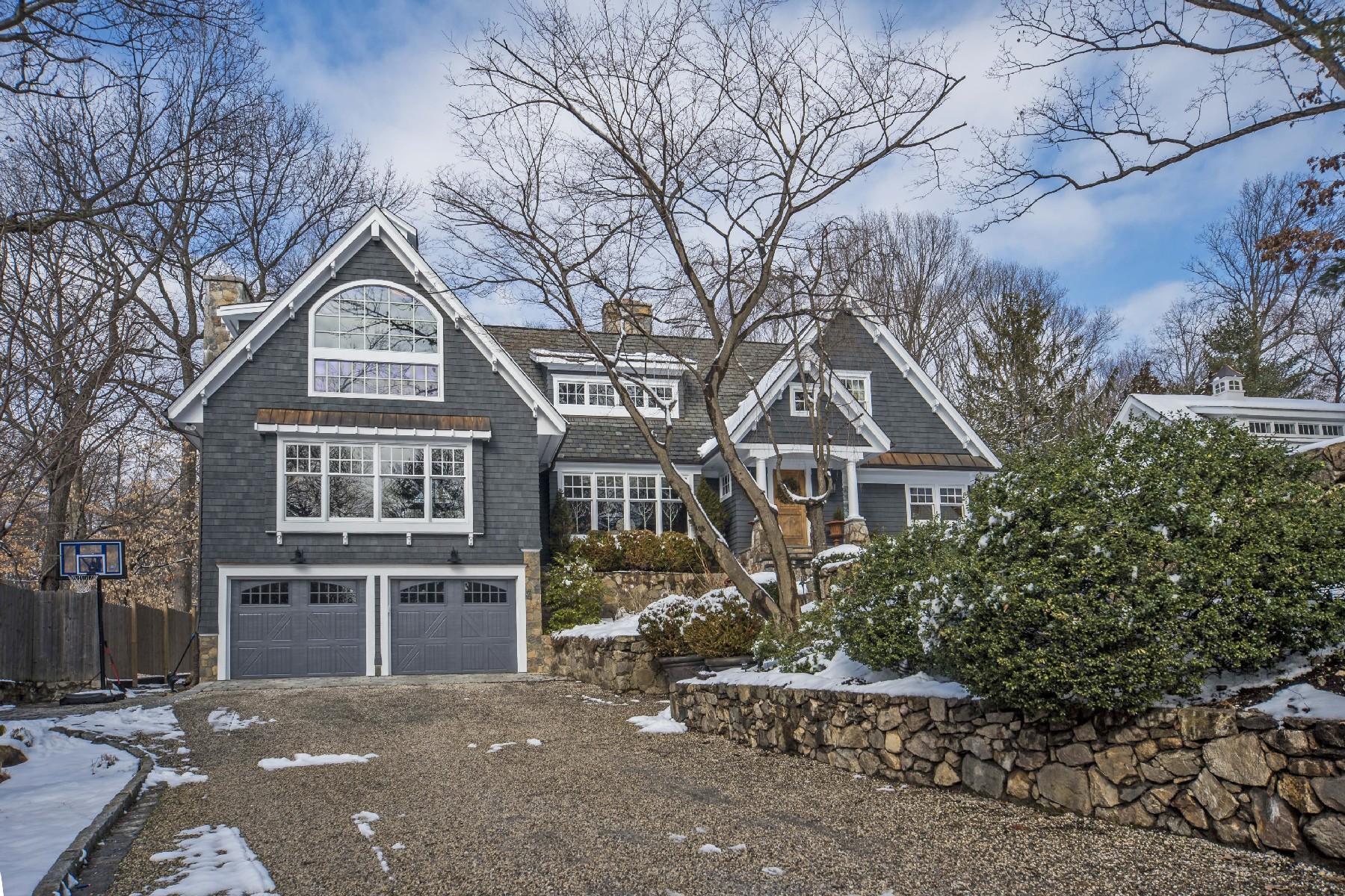 獨棟家庭住宅 為 出售 在 One-Of-A-Kind Home 60 Crooked Trail Rowayton, Norwalk, 康涅狄格州, 06853 美國