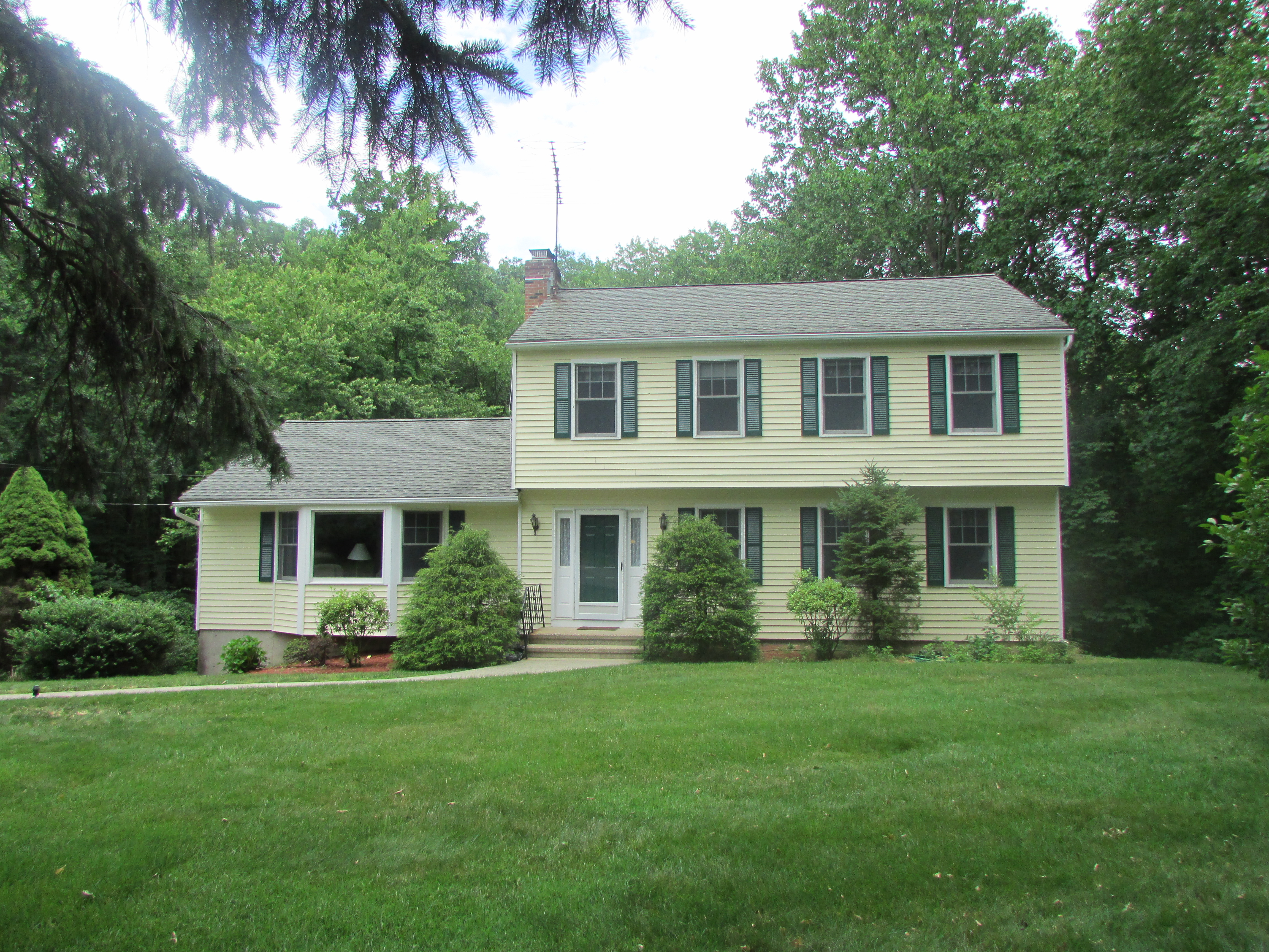 Single Family Home for Sale at Move in Condition 27 Rouleau Lane Shelton, Connecticut, 06484 United States
