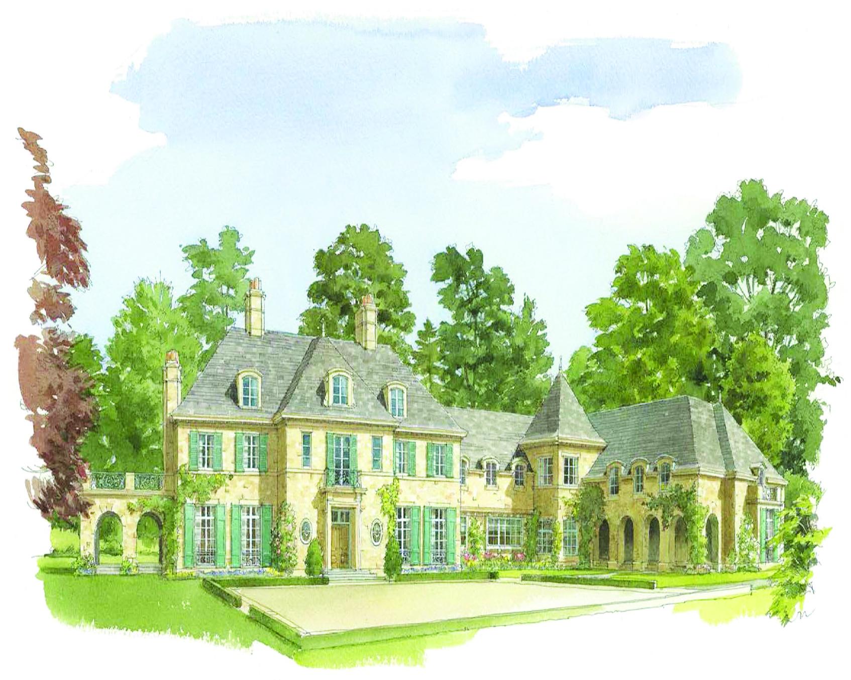Частный односемейный дом для того Продажа на Custom Dream Home in Estate Area 3 Sherbrooke Road Scarsdale, Нью-Йорк 10583 Соединенные Штаты