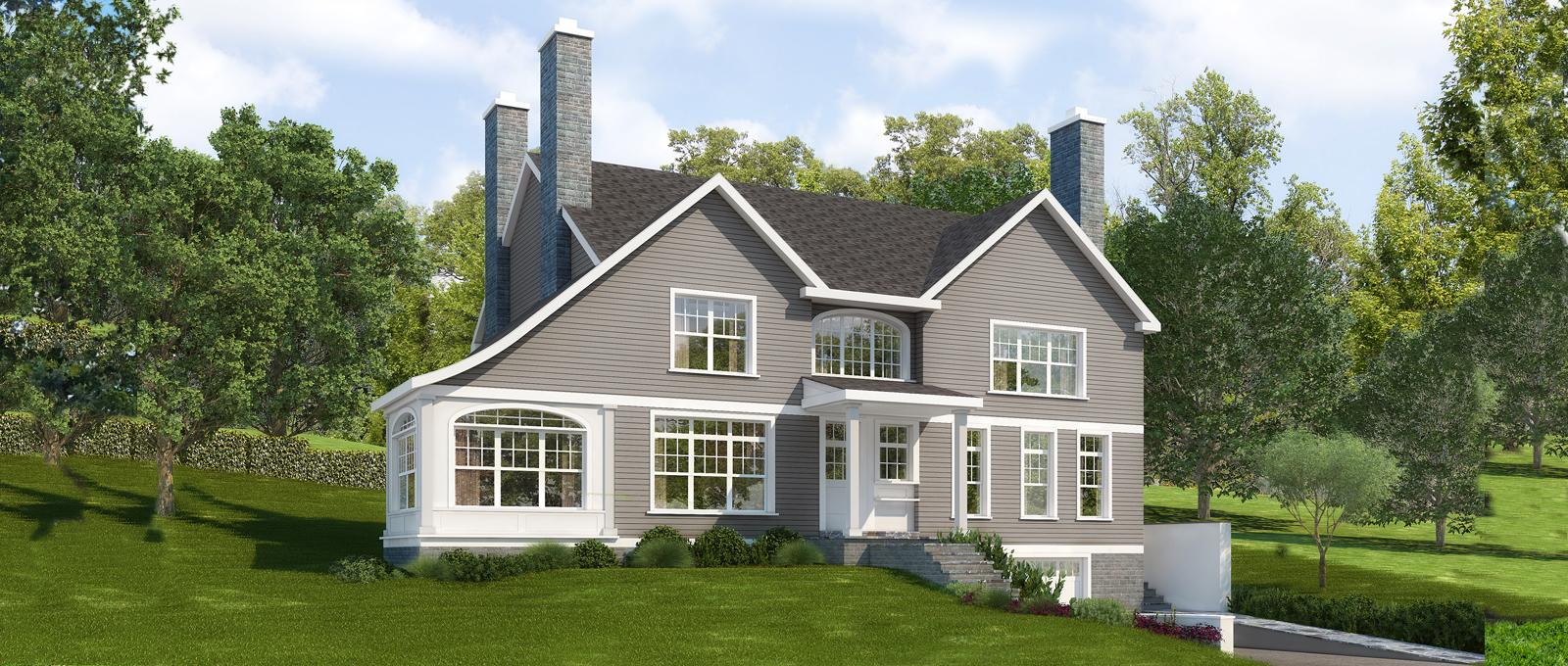 Maison unifamiliale pour l Vente à Rye Gardens New Construction Home 15 Colby Avenue Rye, New York 10580 États-Unis