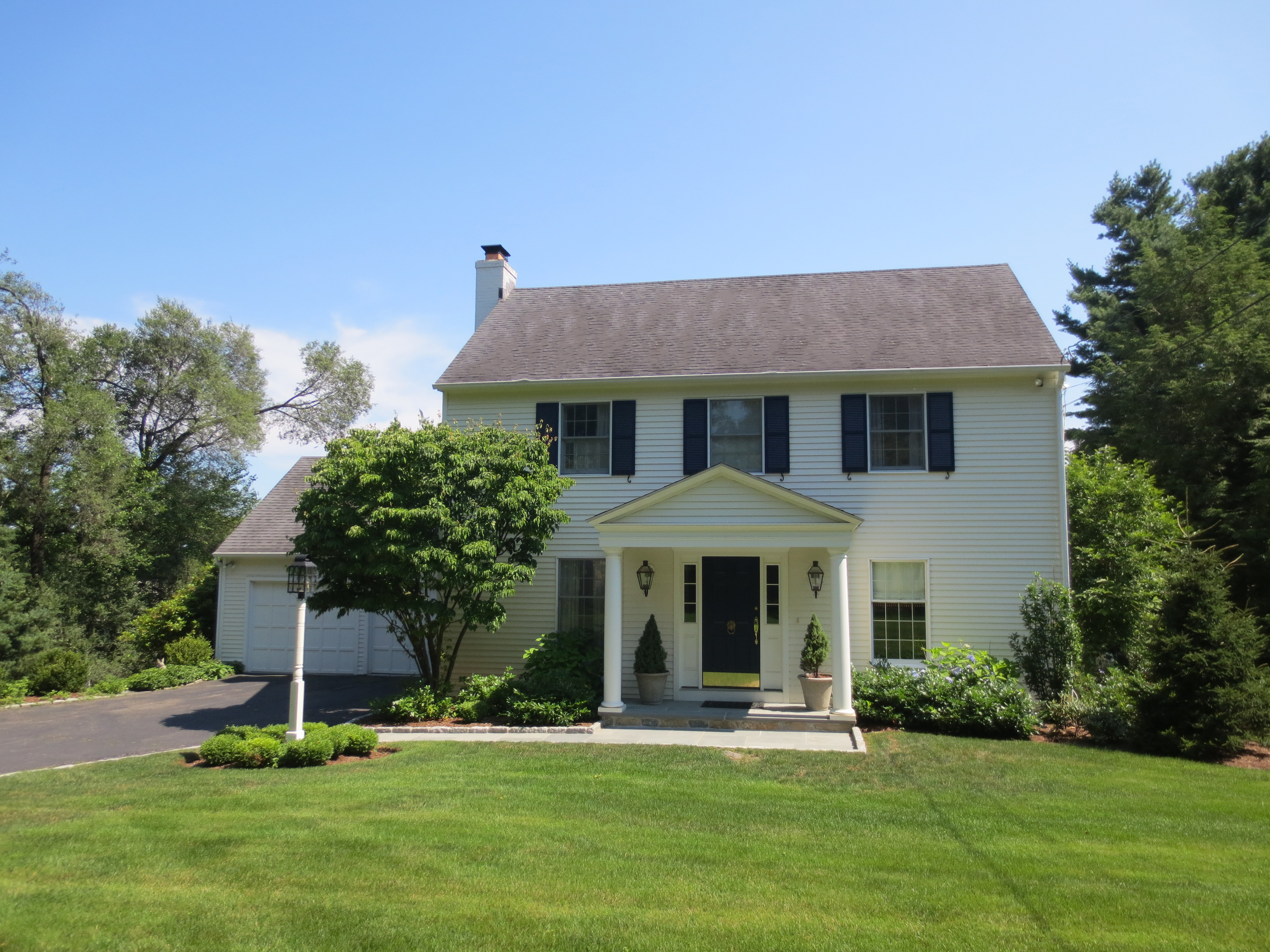 Property For Sale at Sophisticated Greenfield Hill Colonial