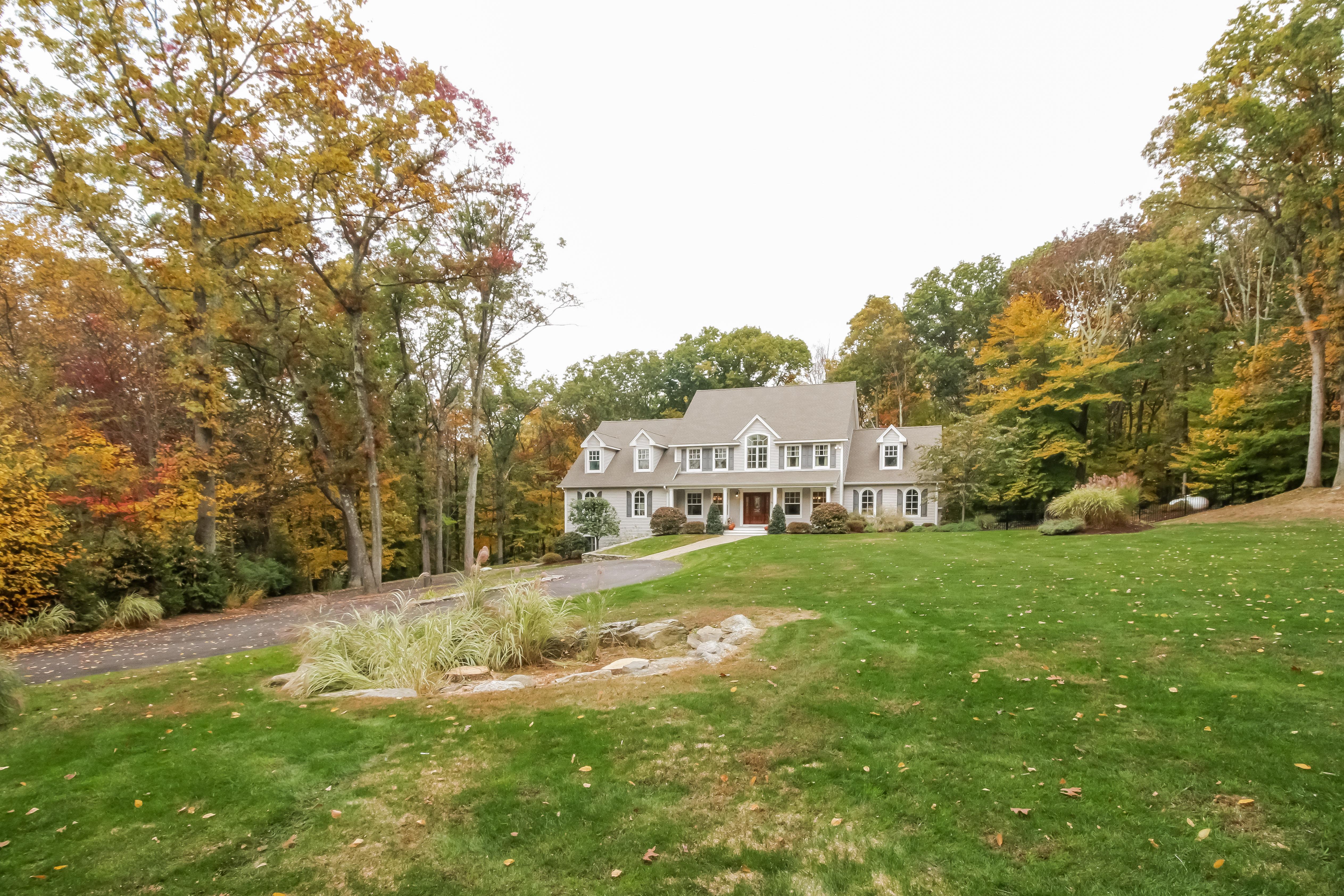 Property Of Custom Built Farmhouse Colonial
