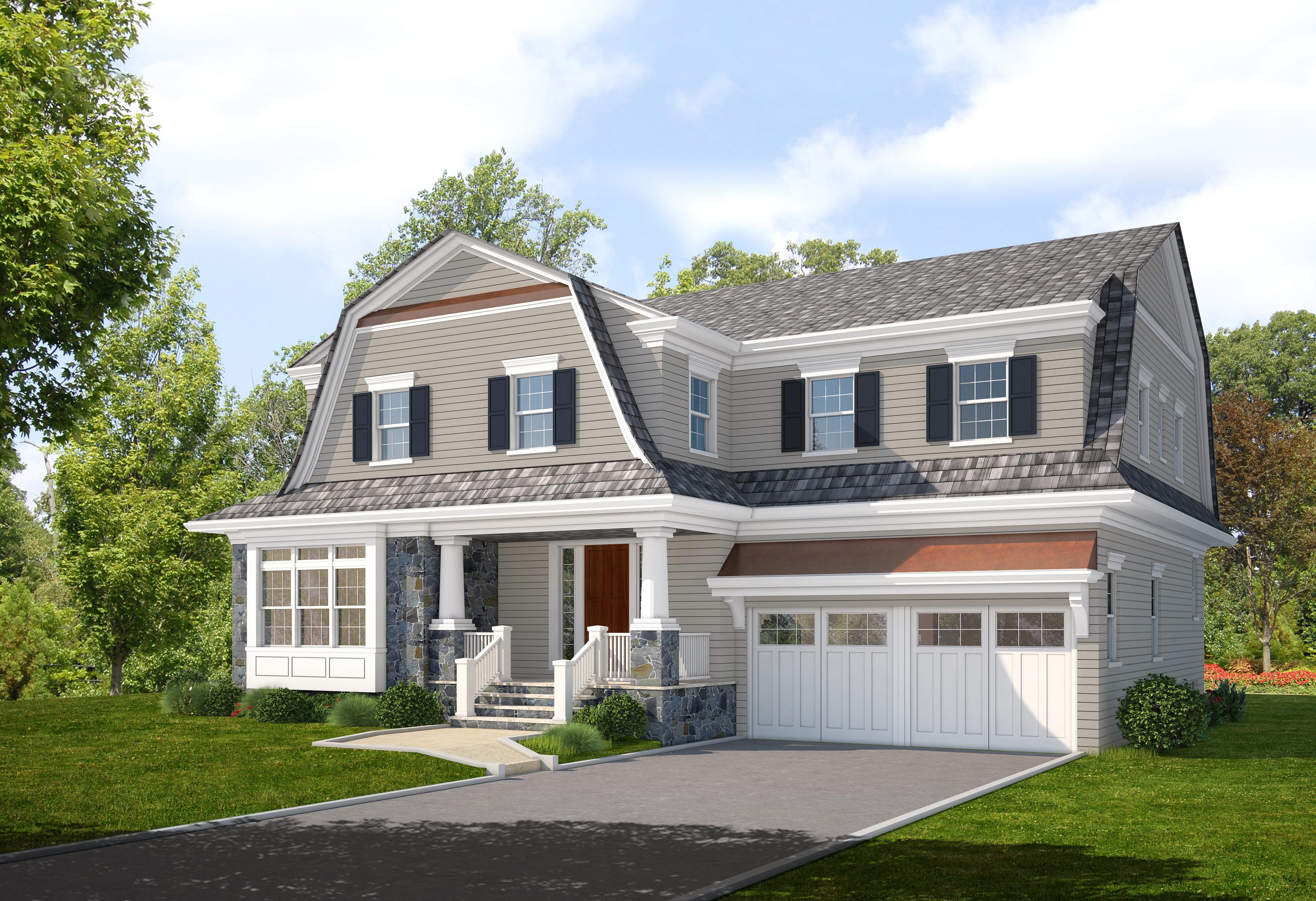 Maison unifamiliale pour l Vente à Fabulous New Construction 42 Villa Road Larchmont, New York 10538 États-Unis