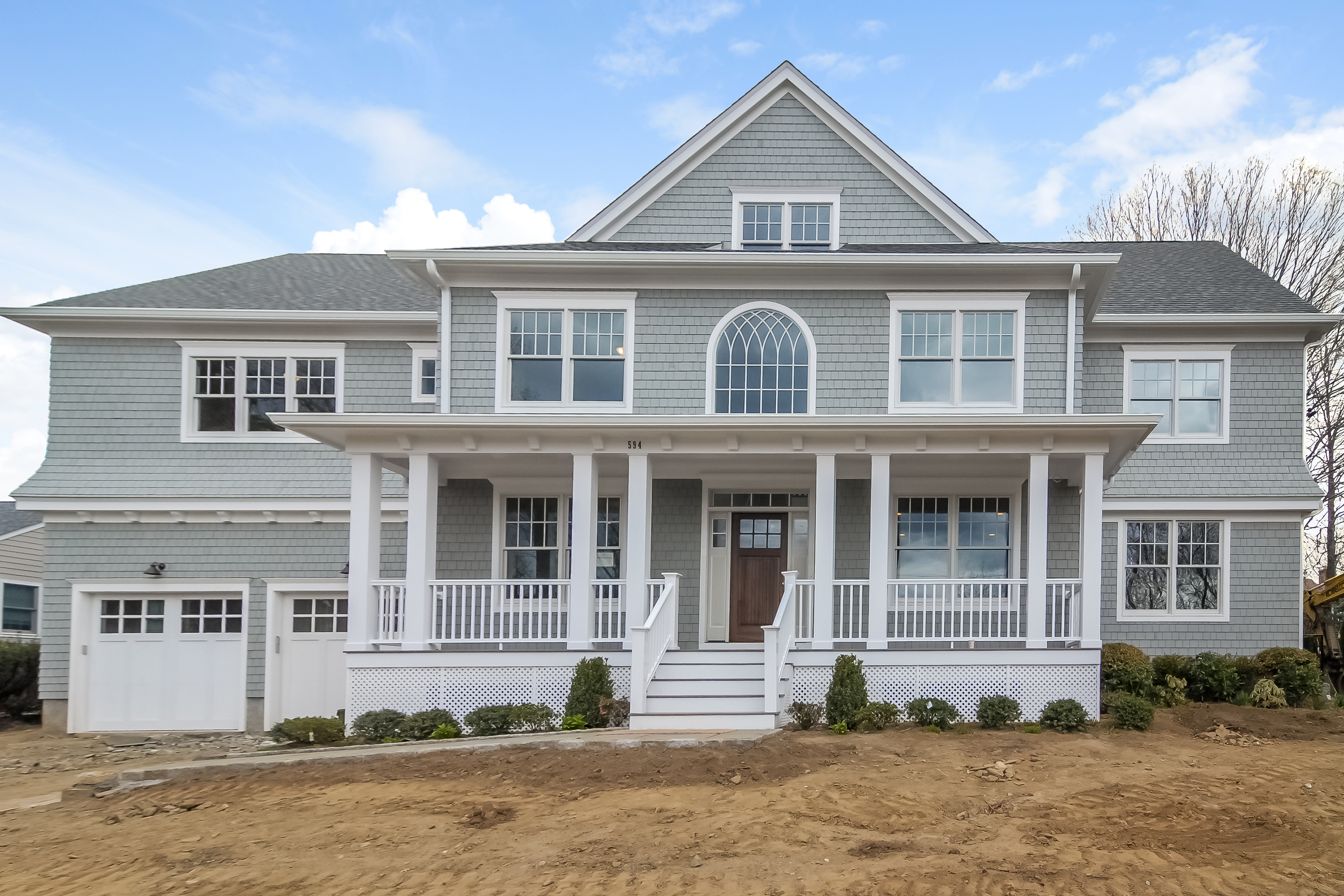 Single Family Home for Sale at Exceptional New Construction in Shore Acres. 594 Alda Road Mamaroneck, New York 10543 United States