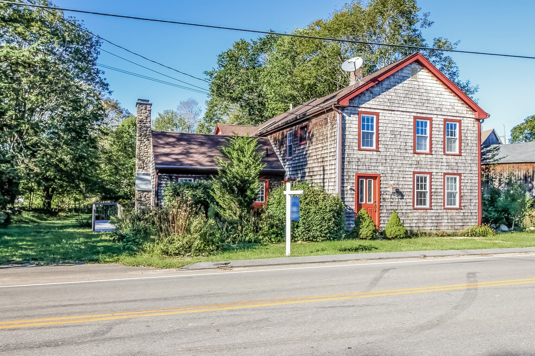 sales property at Plenty Of Room In This New England Farmhouse