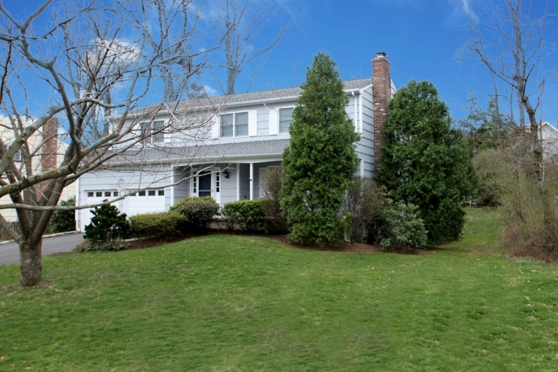 Single Family Home for Sale at Recently Expanded & Remodeled 36 Coachlamp Lane Darien, Connecticut, 06820 United States