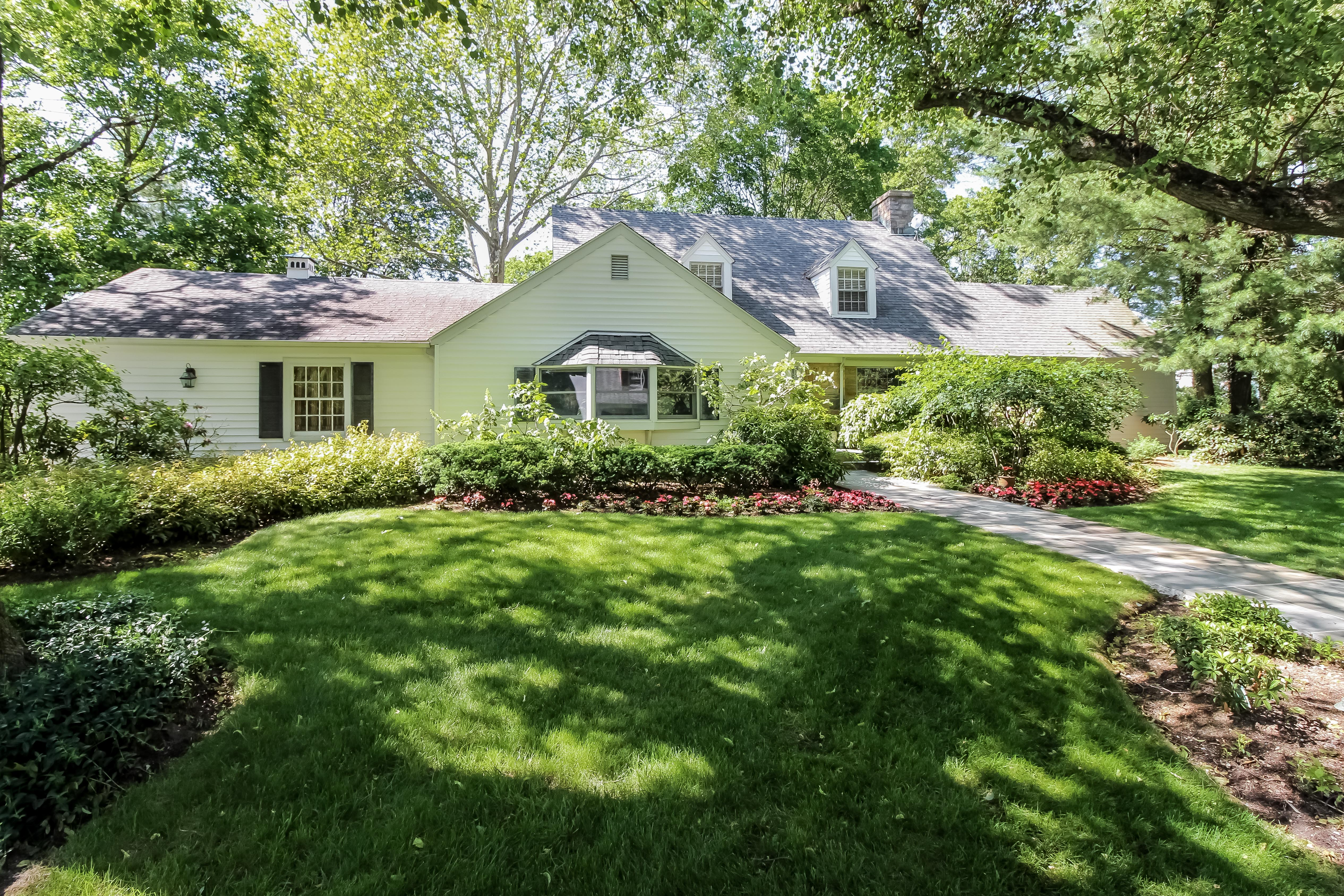 sales property at Renovated Center Hall Colonial