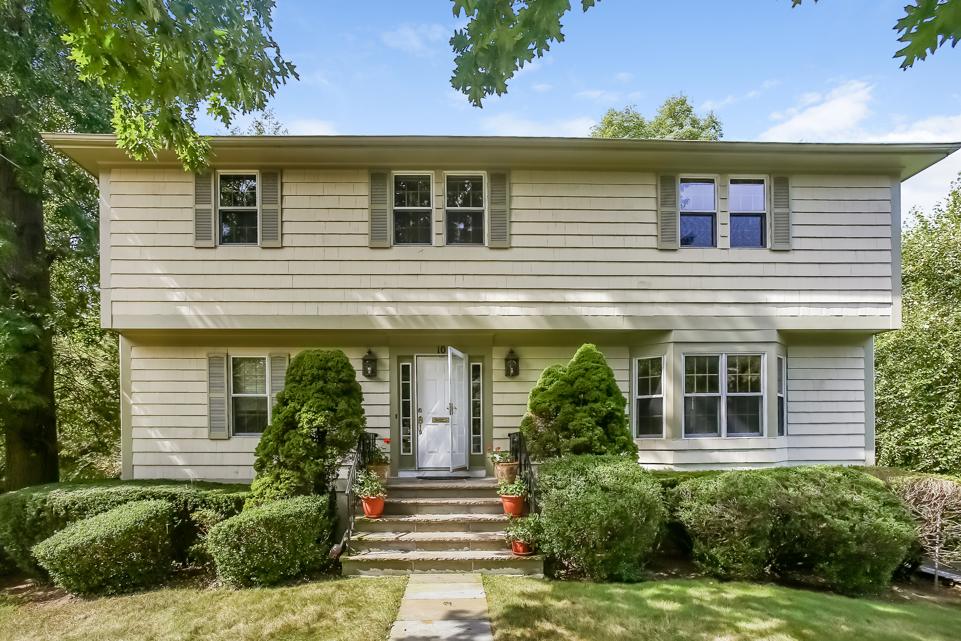 rentals property at Classic Center Hall Colonial in Scarsdale