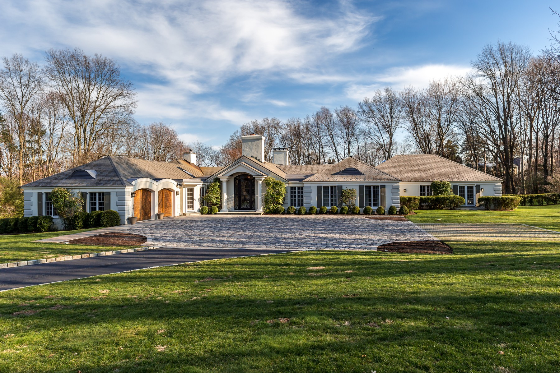 sales property at Magnificent, Very Private Property and Sited On Highest Point In Darien
